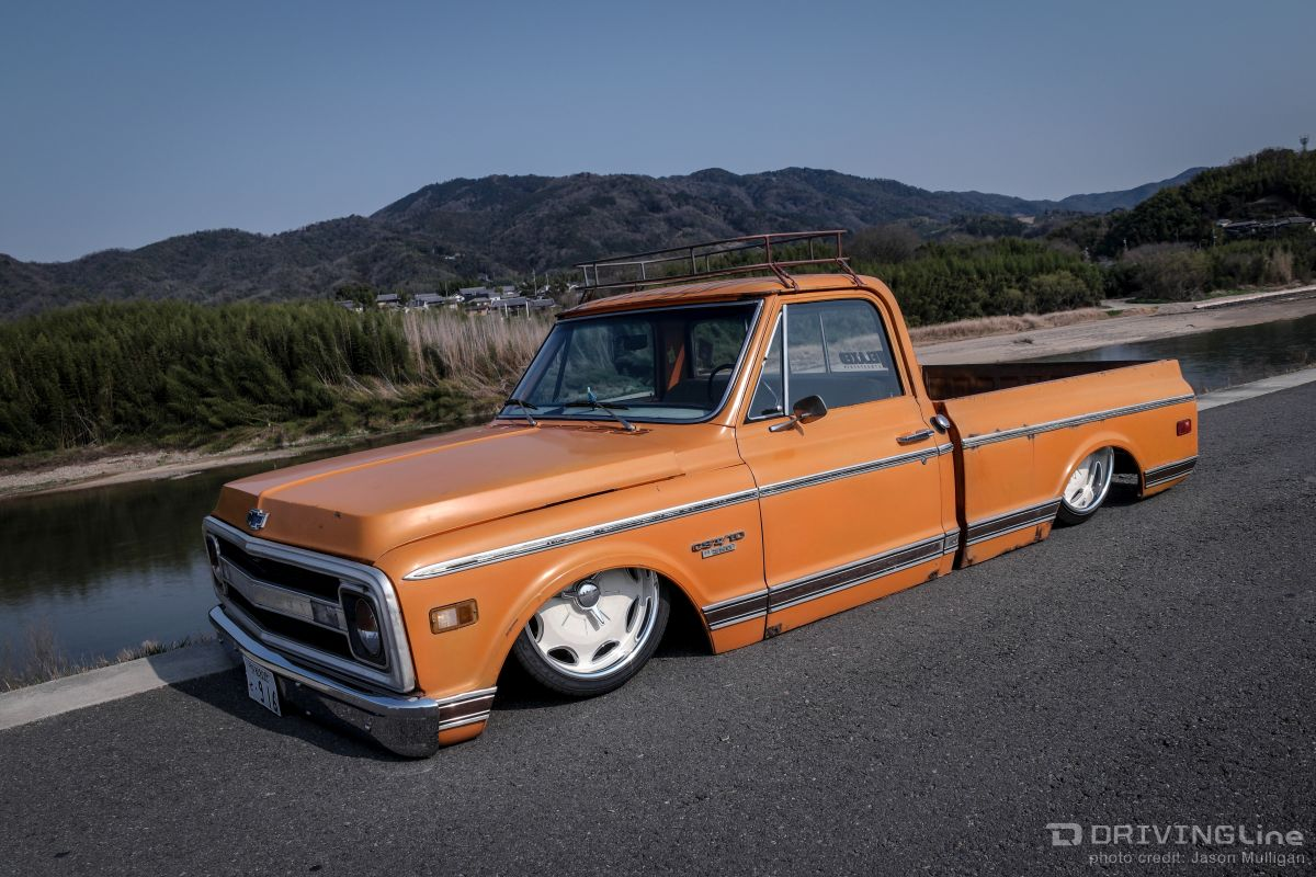 Hide Relaxed C-10: Vintage American Trucks Hit Japan | DrivingLine