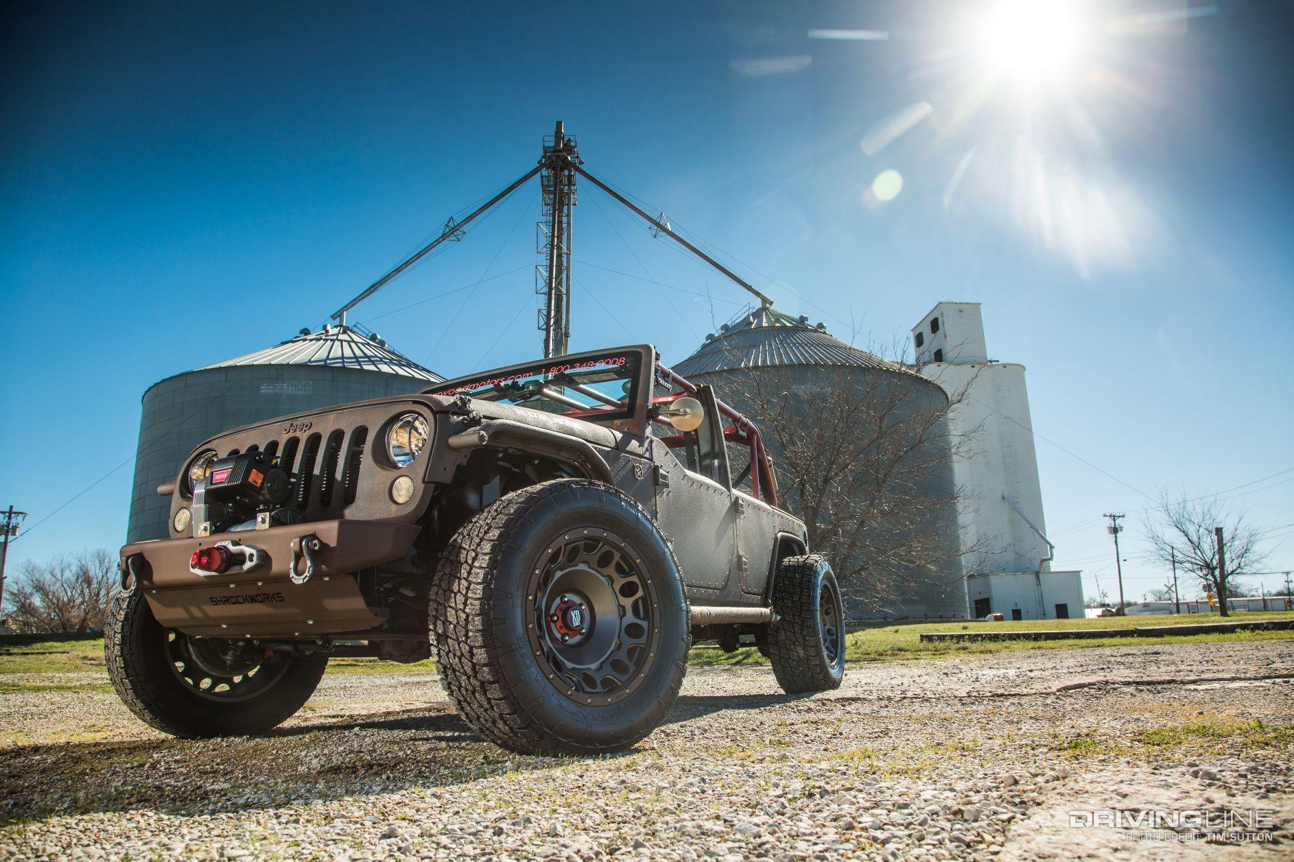 Jeep Wrangler Jk Front Bumper >> Starwood Motors Jeep Wrangler Unlimited Rat Rod JK ...