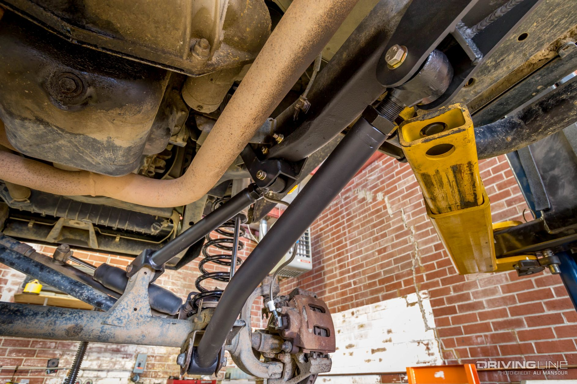 Jeep Tj Parts >> 2000 Jeep Wrangler TJ BDS Long Arm Suspension Install.   DrivingLine