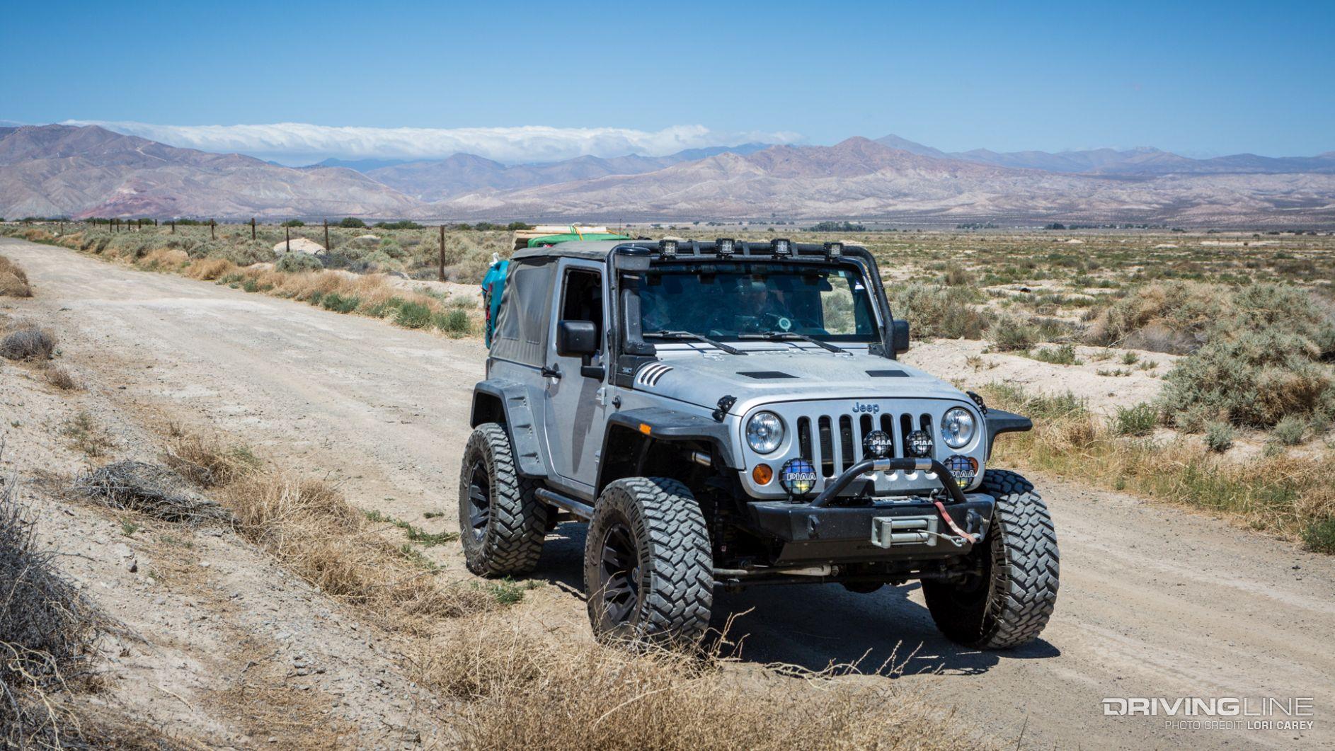 koehn lake trail review in a jeep wrangler jk drivingline. Black Bedroom Furniture Sets. Home Design Ideas