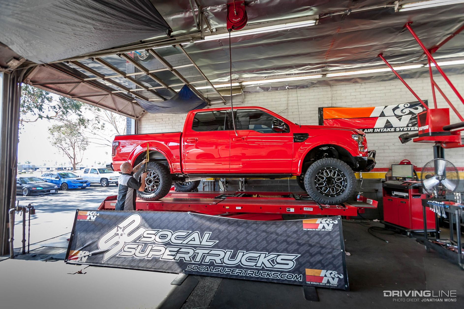 Ford F-150 4-inch BDS Suspension lift with Florida Georgia ...