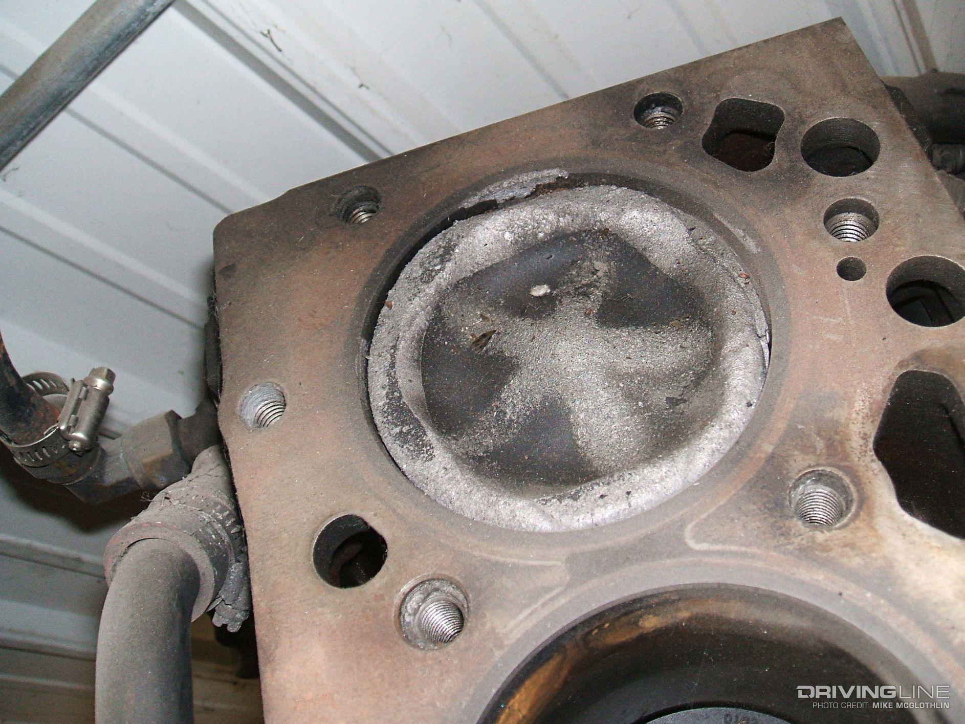 Cummins Melted Piston on Duramax Diesel Torque