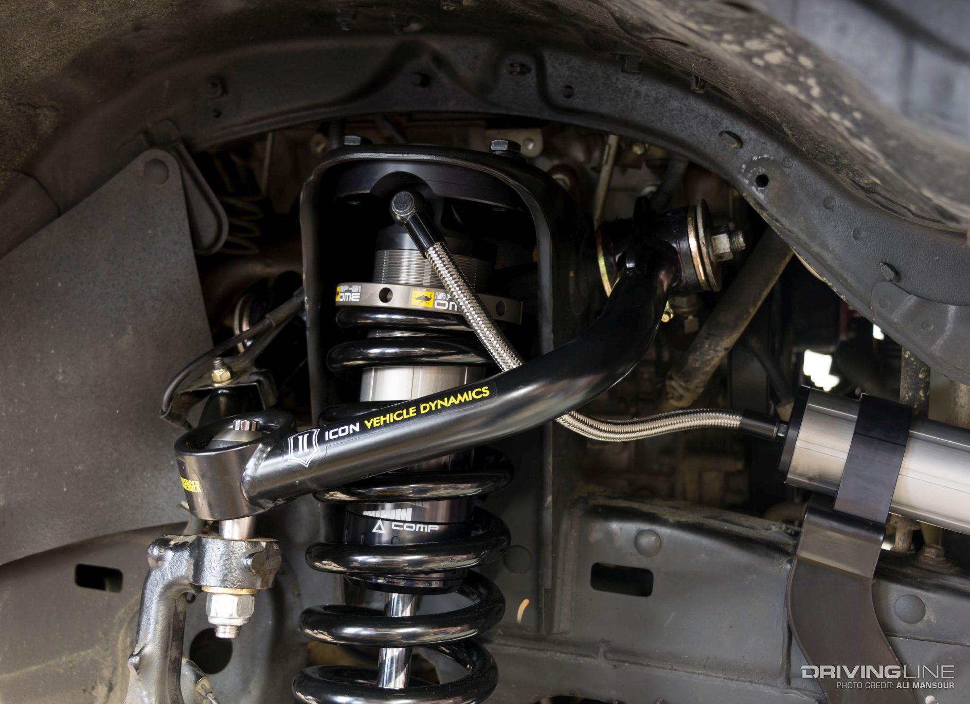 2008 Toyota Tacoma ICON Vechicle Dynamics Uniball Upper ...