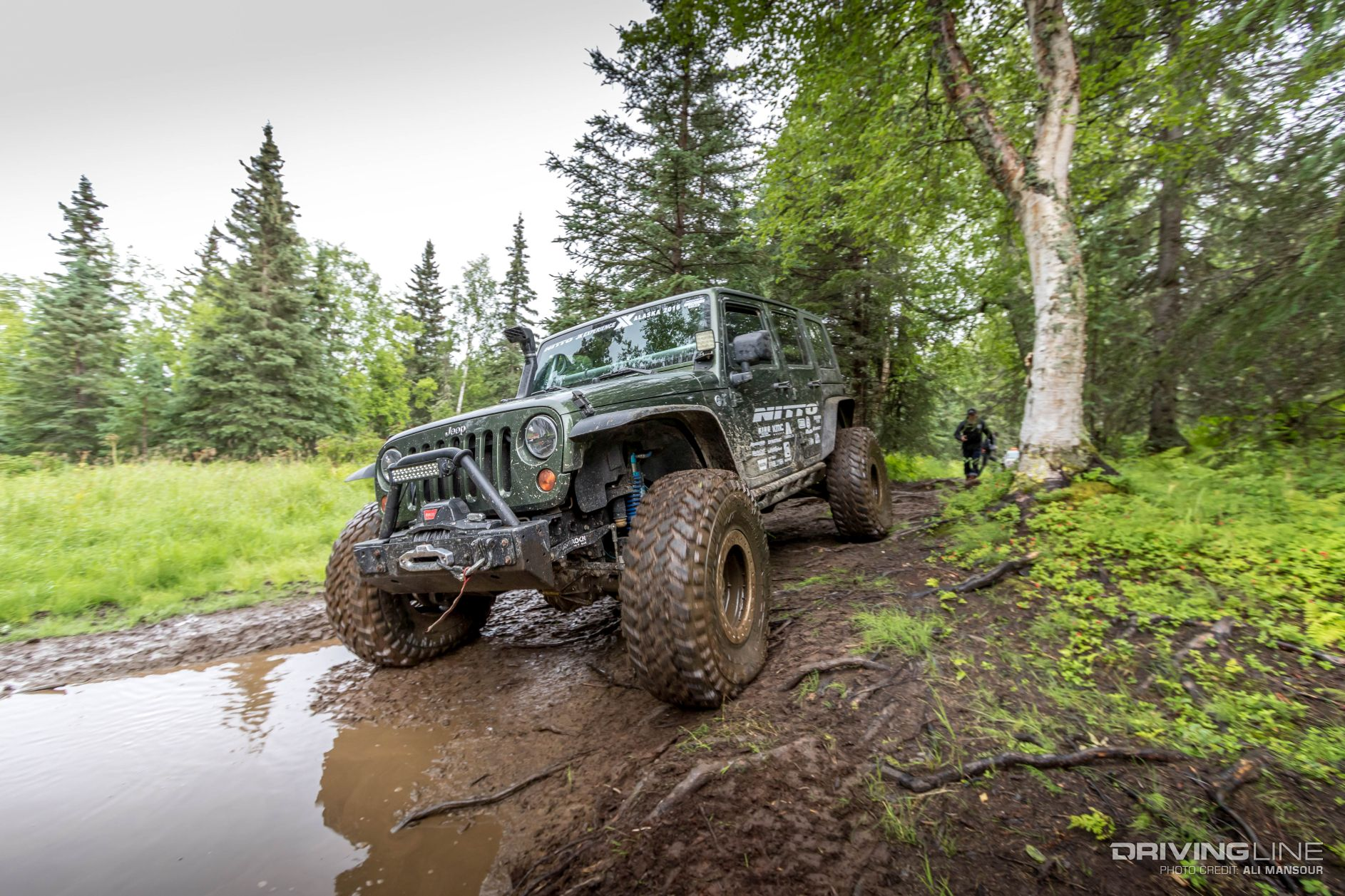 Best Diesel Truck 2016 >> Jeep Wrangler JK's of the 2016 Nitto JKX Alaska | DrivingLine