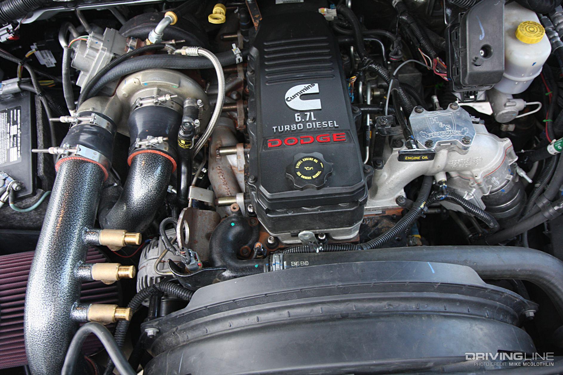 Compound Turbocharged Diesel Engines 101 Drivingline 1996 Ford 7 3 Liter Engine Diagram High Pressure Oil Pump