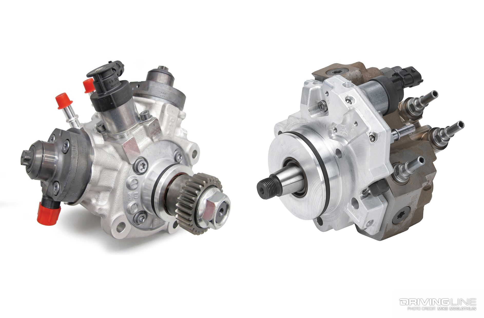 The advantages of running dual injection pumps on a diesel engine