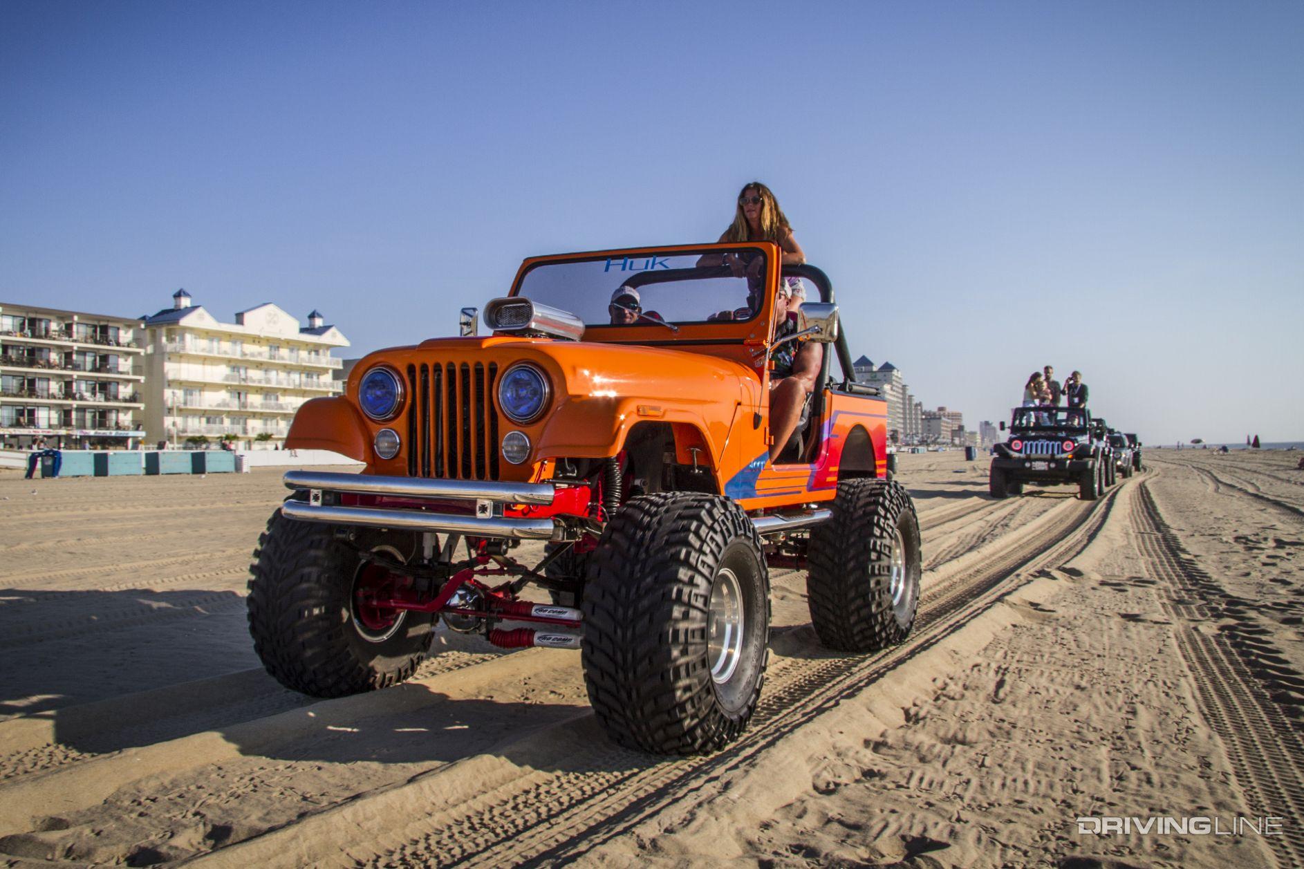 Ocean City Jeep Week 2016 Fun In The Sun Drivingline