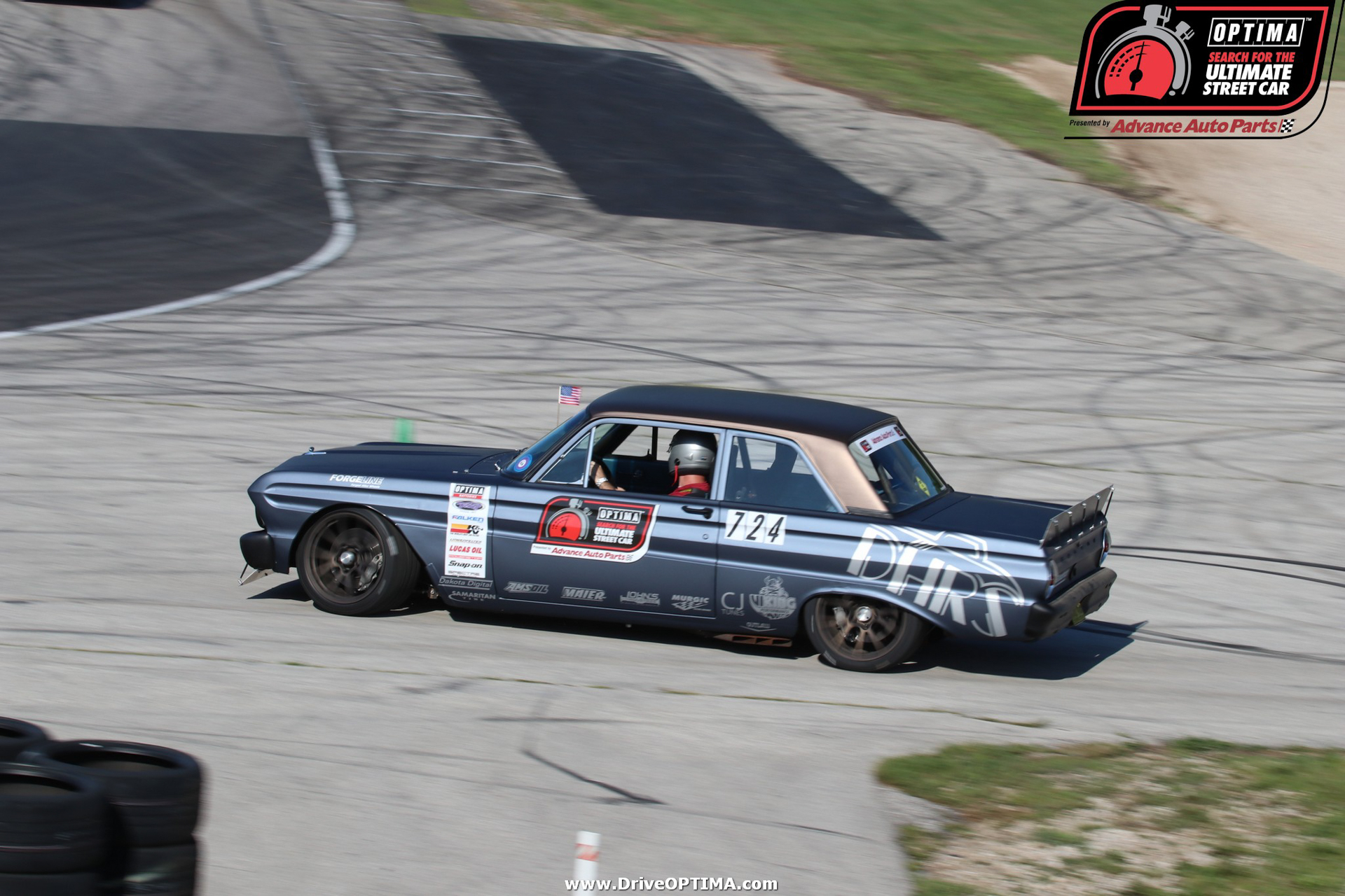 together with Brandon Clemens Ford Falcon Road America Driveoptima also  additionally Attachment additionally E A C Ce F B B D Caa. on 64 falcon pro touring