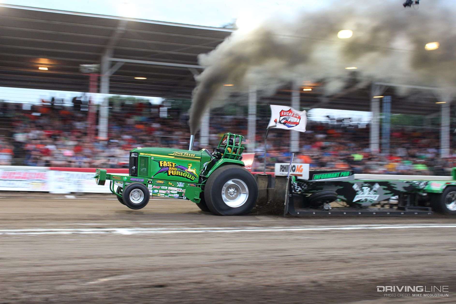 John Deere Super Stock Pulling Tractors : Scheid diesel extravaganza the super bowl of truck