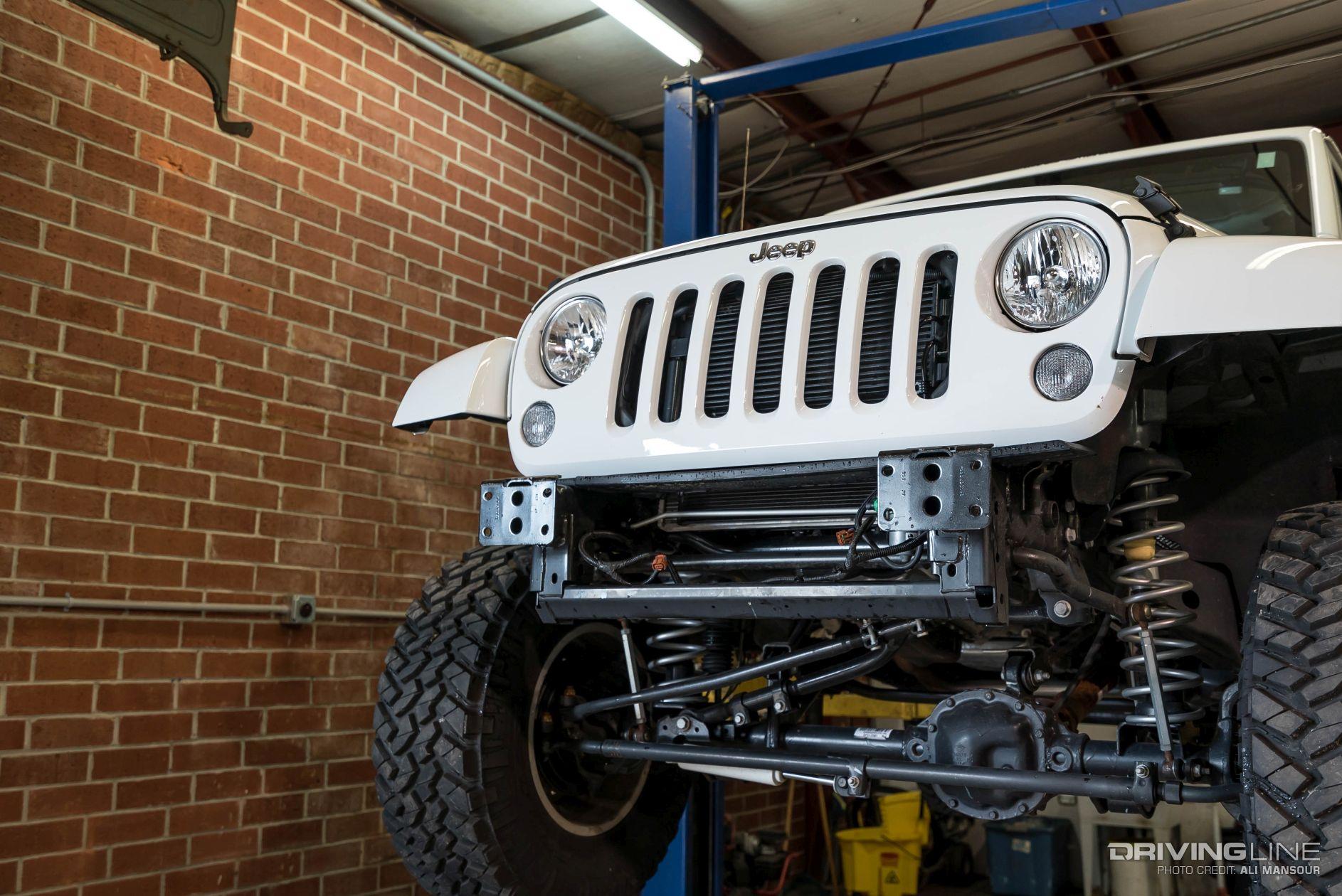 fab fours jeep wrangler jk lifestyle front winch bumper review rh drivingline com Jeep Wrangler Fender Flares Jeep Wrangler Front Fenders