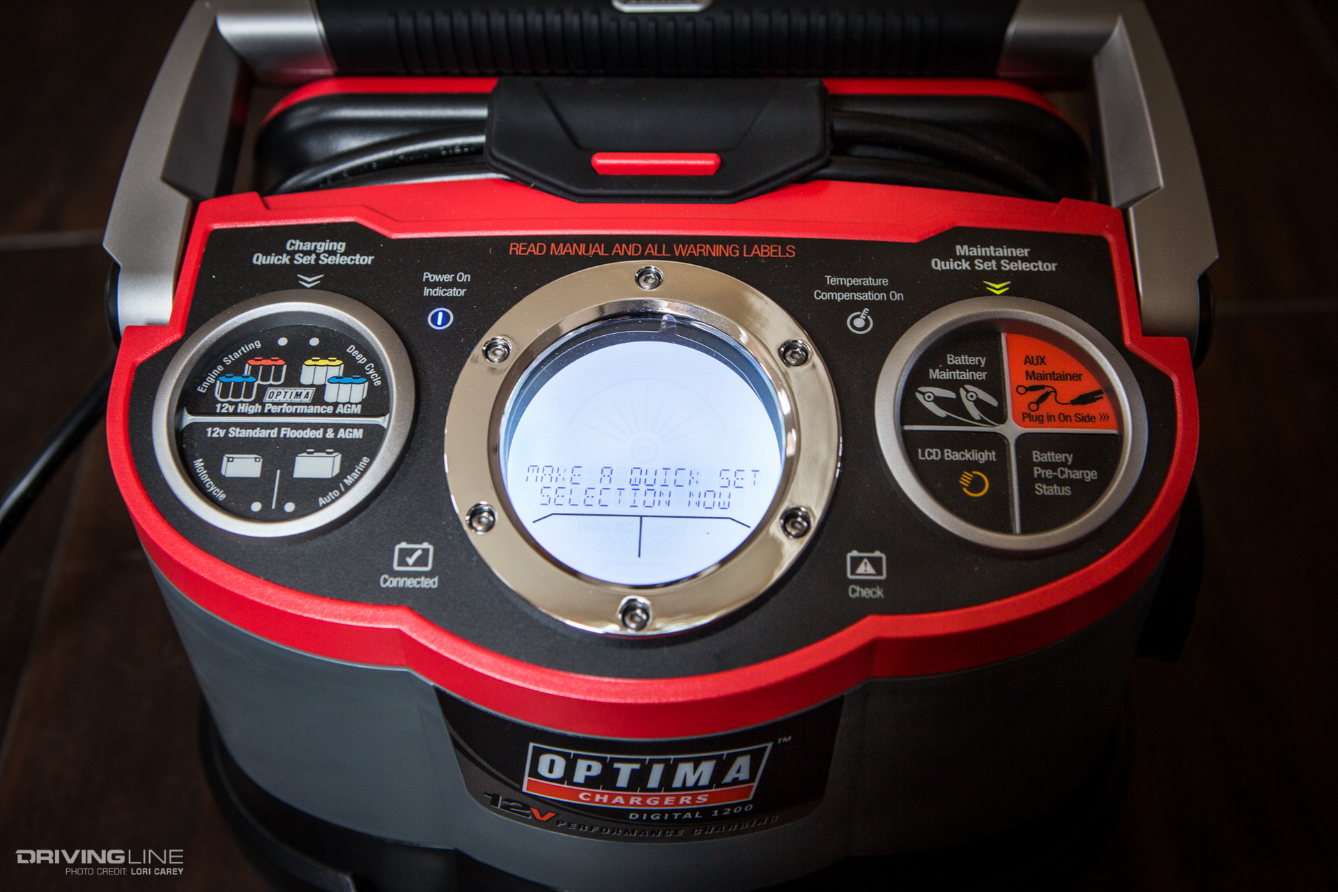 Car Battery Charger Reviews >> OPTIMA Digital Battery Charger and Maintainers Review | DrivingLine