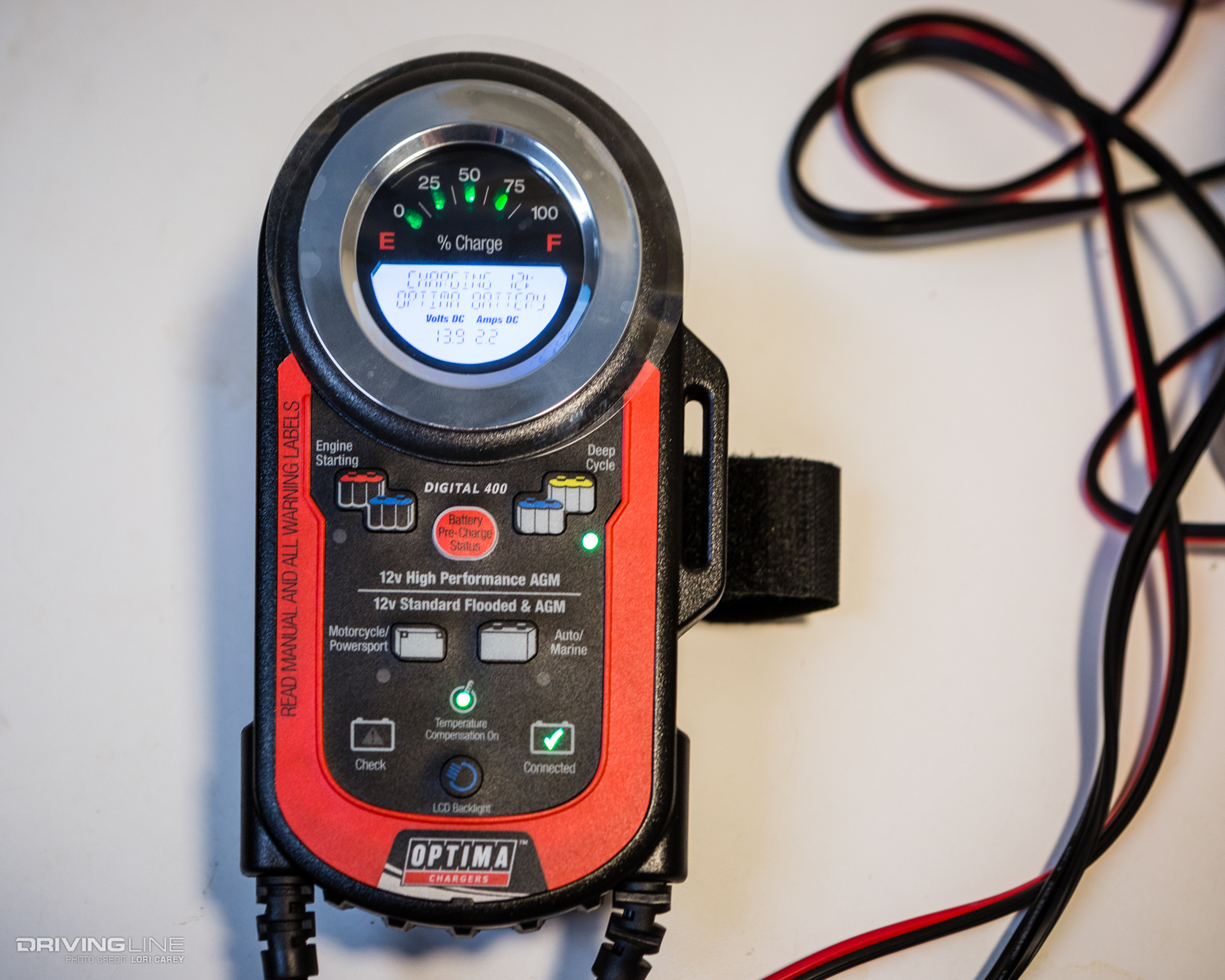 Optima Digital Battery Charger And Maintainers Review