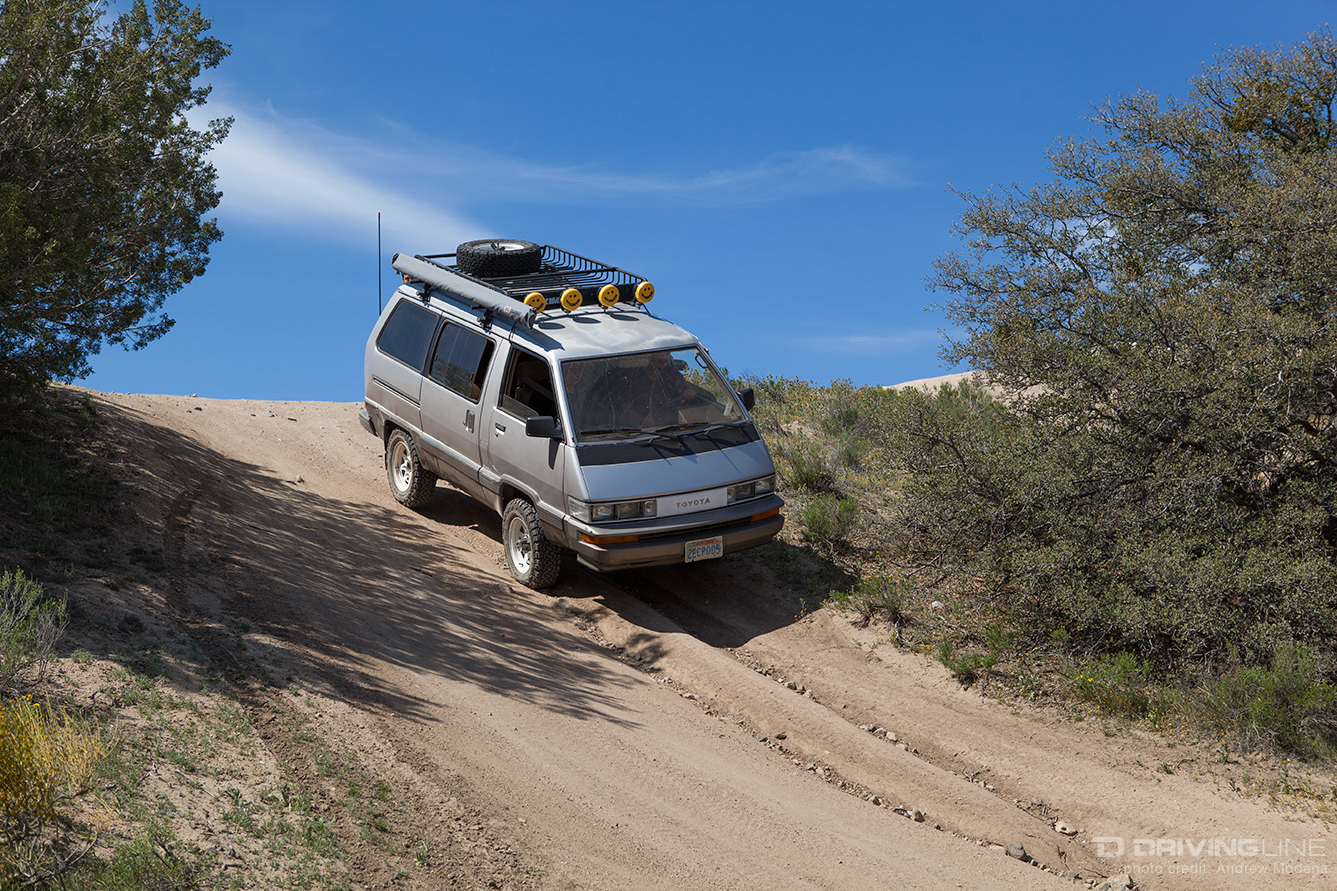 The Van That Can A 4x4 Toyota Van Built For The Rocks