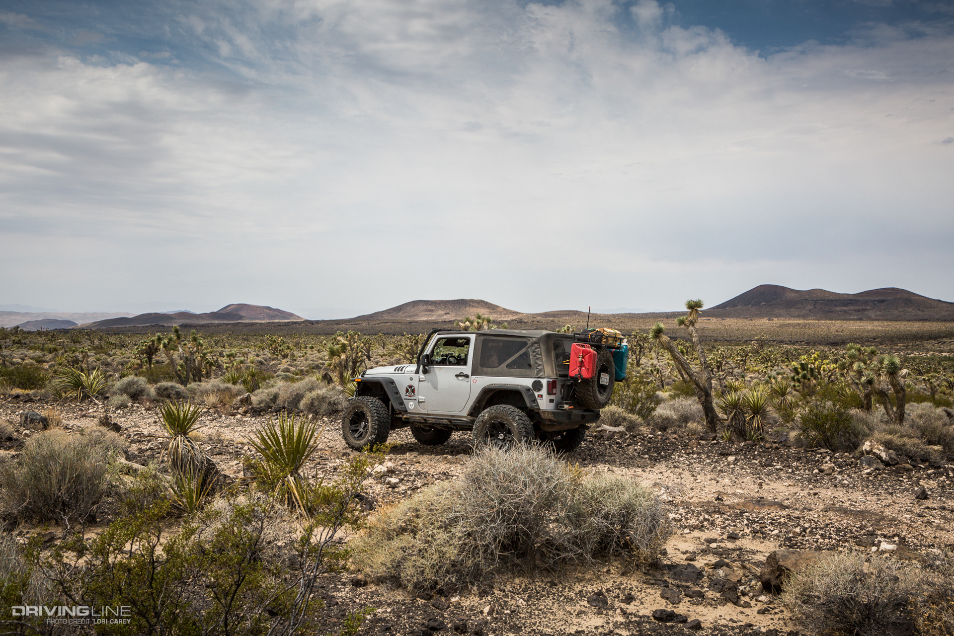 Aiken Mine Trail Review: Volcanic Wheeling in the Mojave