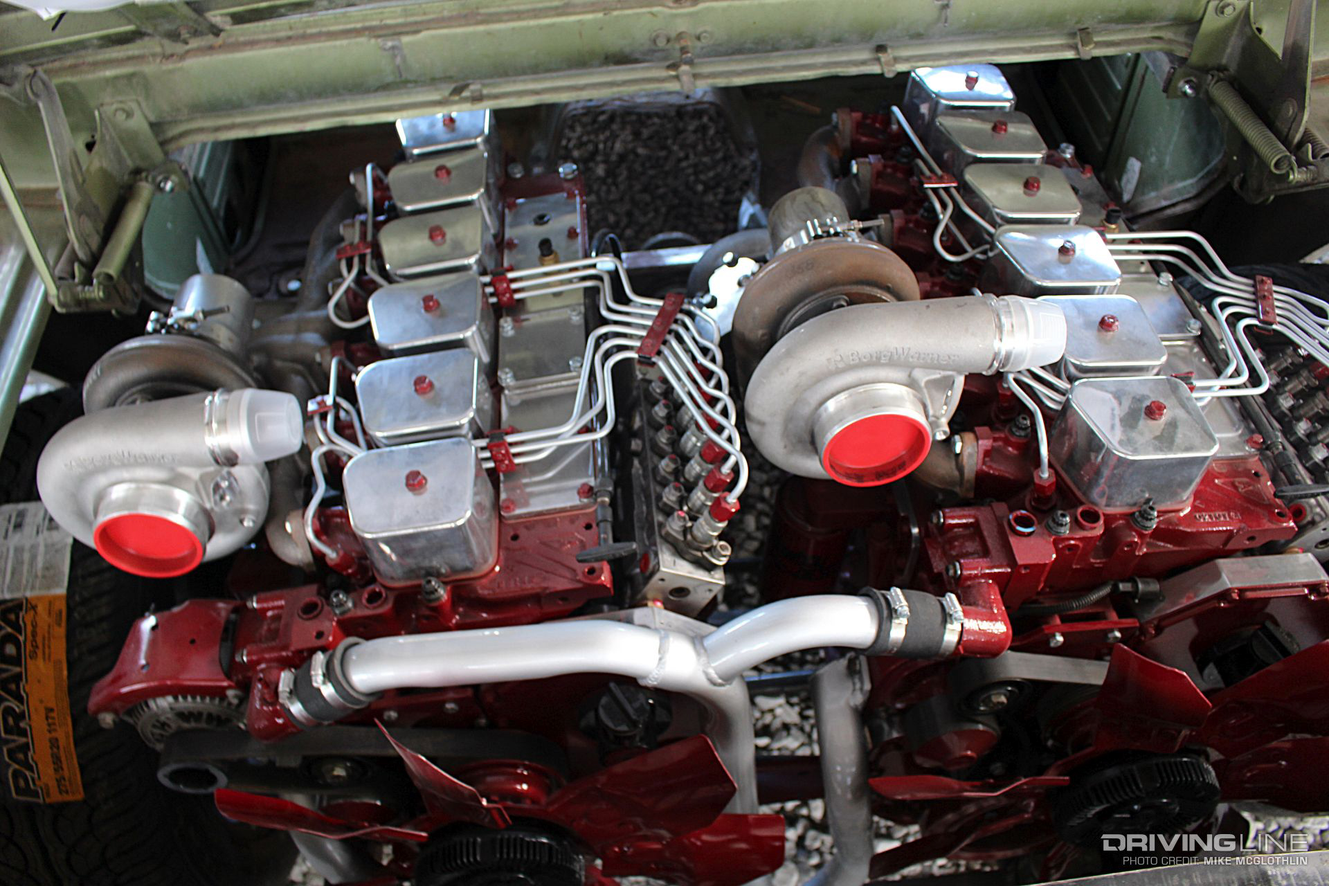 Dodge Dual Cummins Diesel Engines