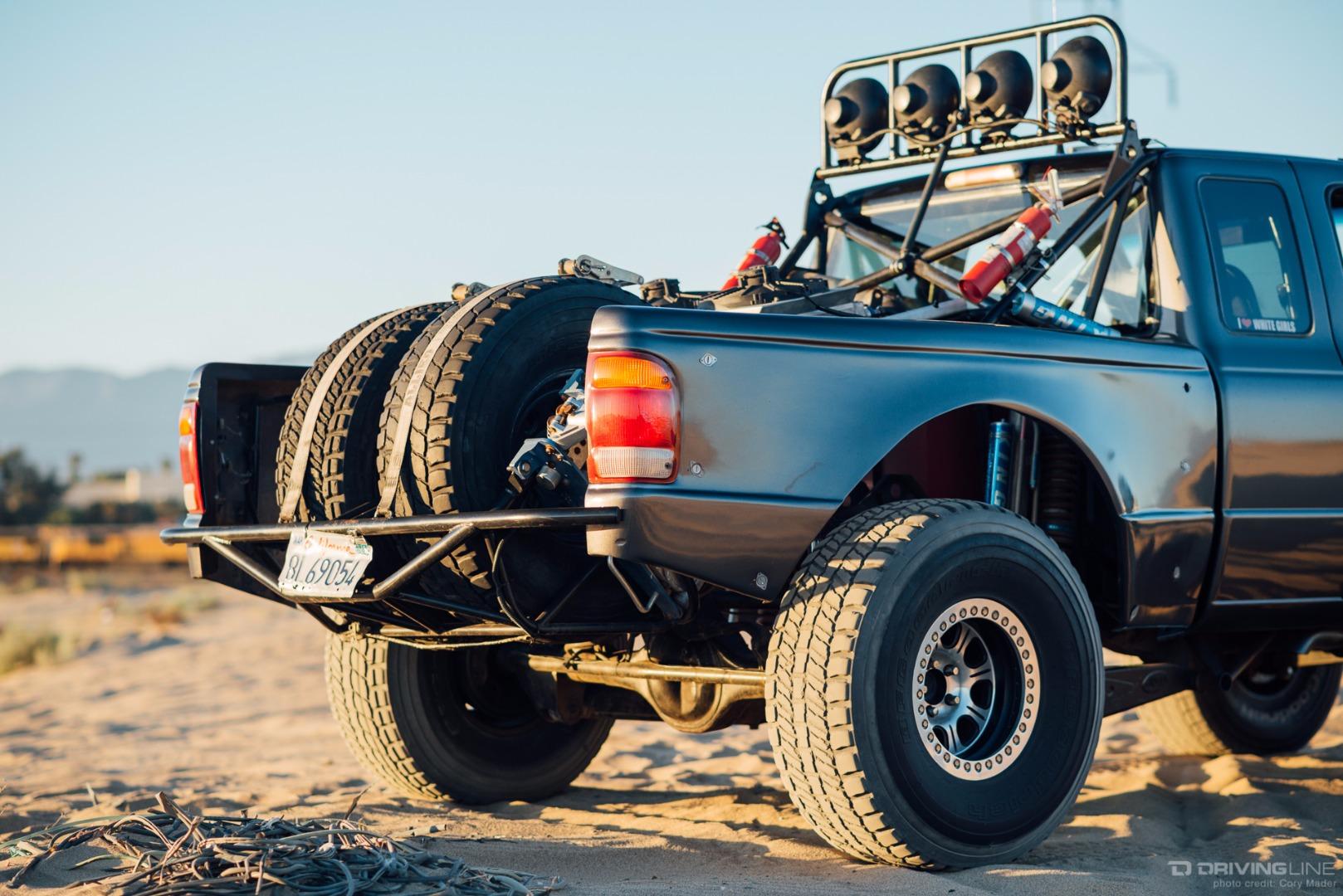 Jr's Desert-Dominating Ford Ranger Prerunner | DrivingLine