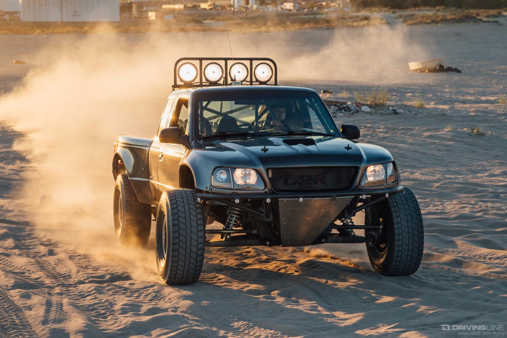 Ford Ranger Jdm : Jr s desert dominating ford ranger prerunner drivingline