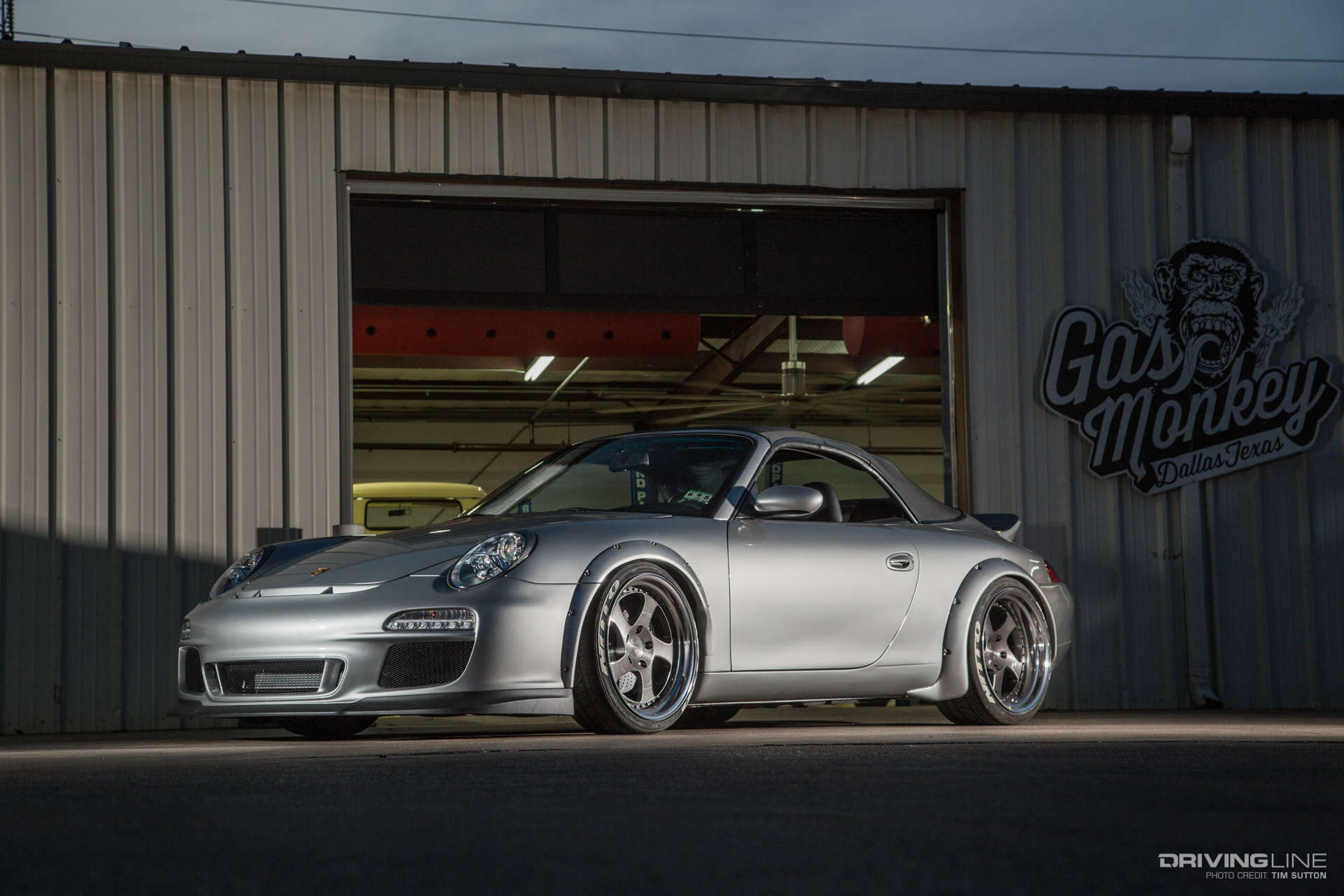Gas Monkey Garage S Ls Swapped Porsche 996 Not Just A