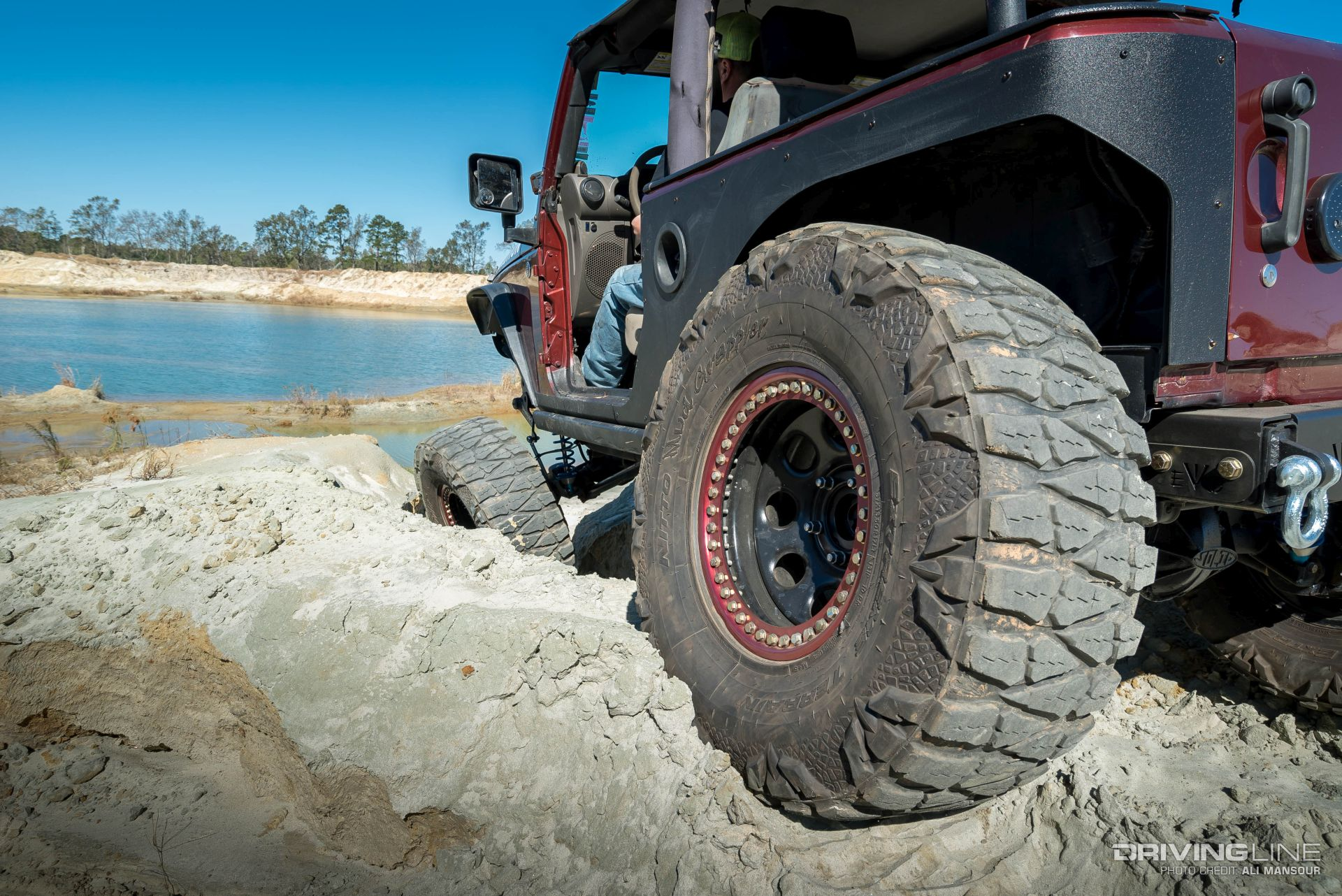 Diesel Jeep Wrangler >> 2007 Jeep Wrangler 8-inch Stretch With 37-inch Mud Grapplers | DrivingLine