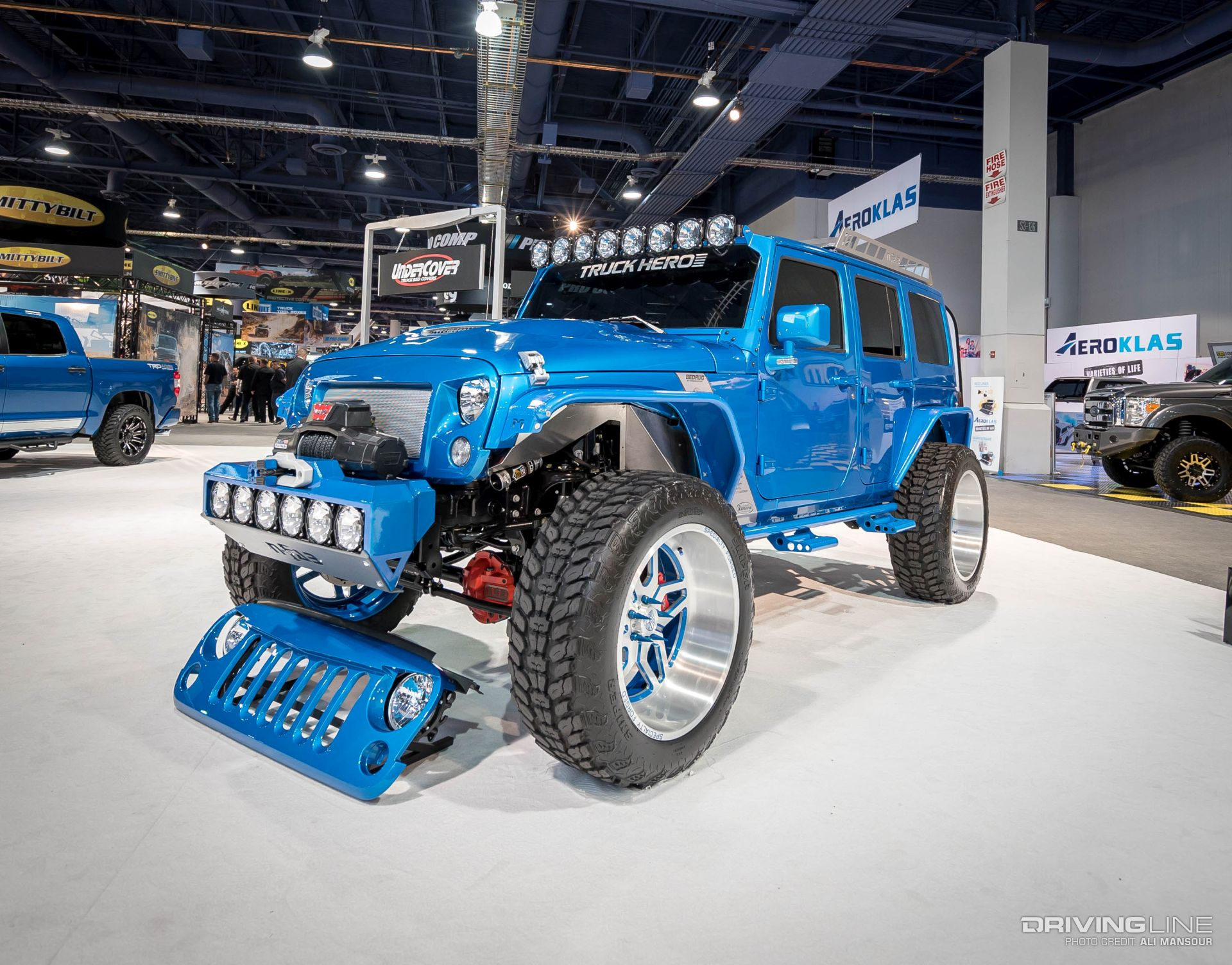 Jeep 4x4 2017 >> Jeeps of SEMA 2016 [Gallery] | DrivingLine
