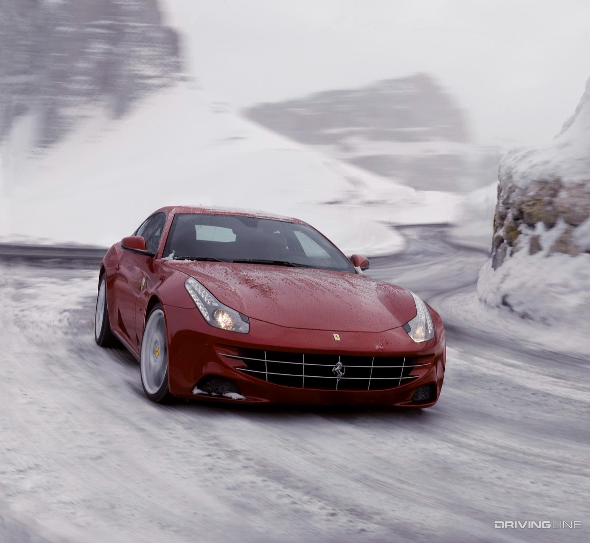 Ferrari 4x4: 10 Winter-Ready Vehicles To Dominate Snow-Filled Roads