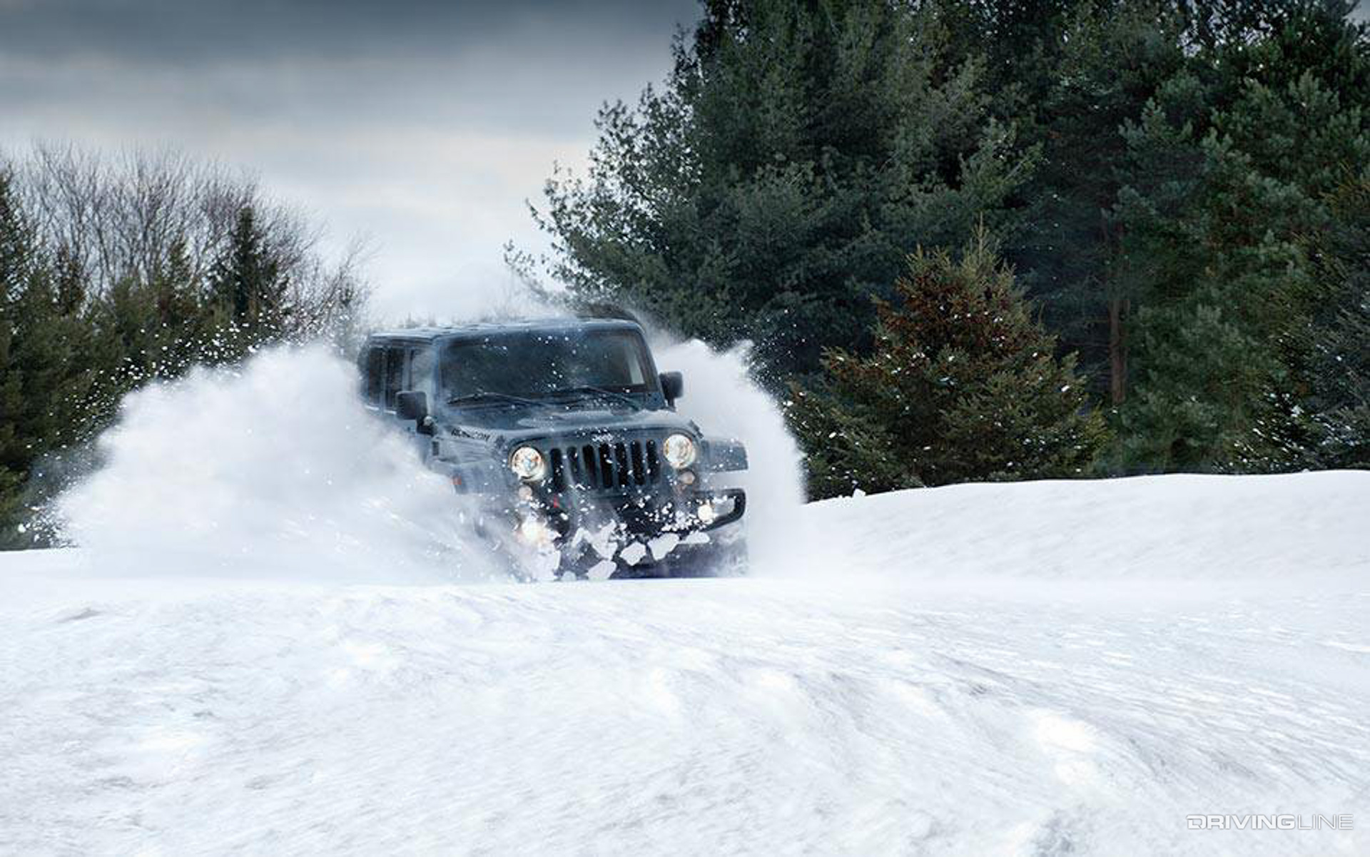 Jeep 4x4 2017 >> 10 Winter-Ready Vehicles to Dominate Snow-Filled Roads | DrivingLine