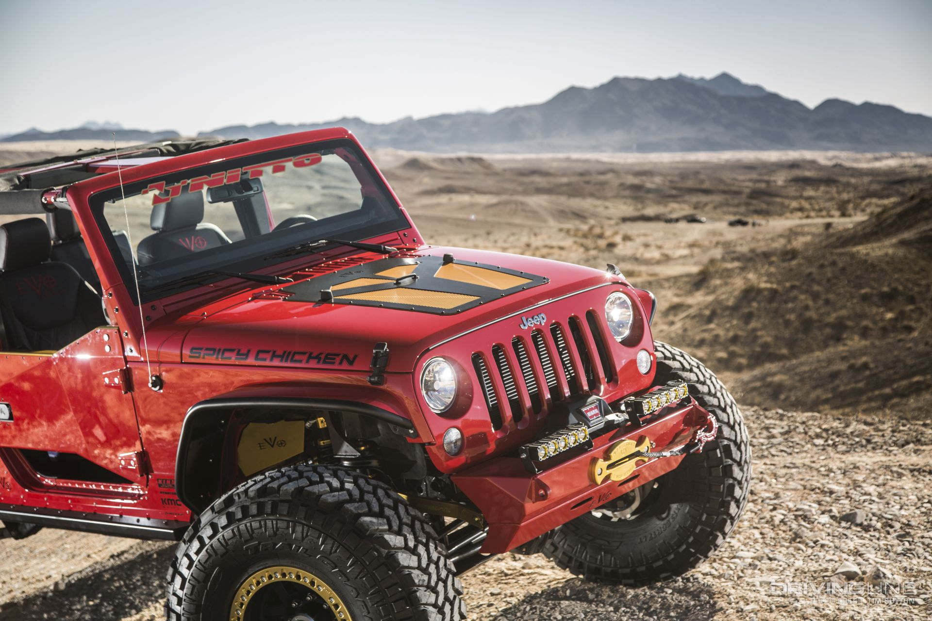 2017 Jeep Wrangler Unlimited Sport >> Spicy Chicken: An EVO-Built 2017 Jeep Wrangler Unlimited ...