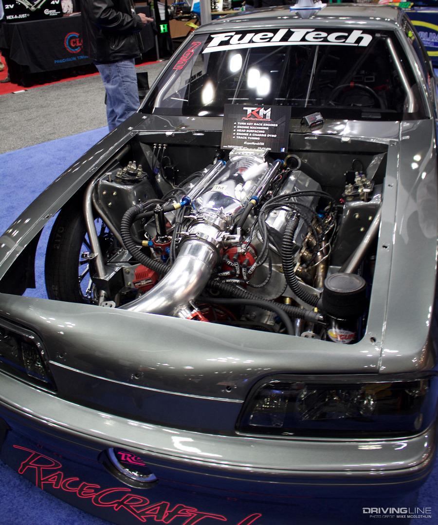 Ziff Hudson Mustang Turbo Big Block on Duramax Turbo Diesel Engines