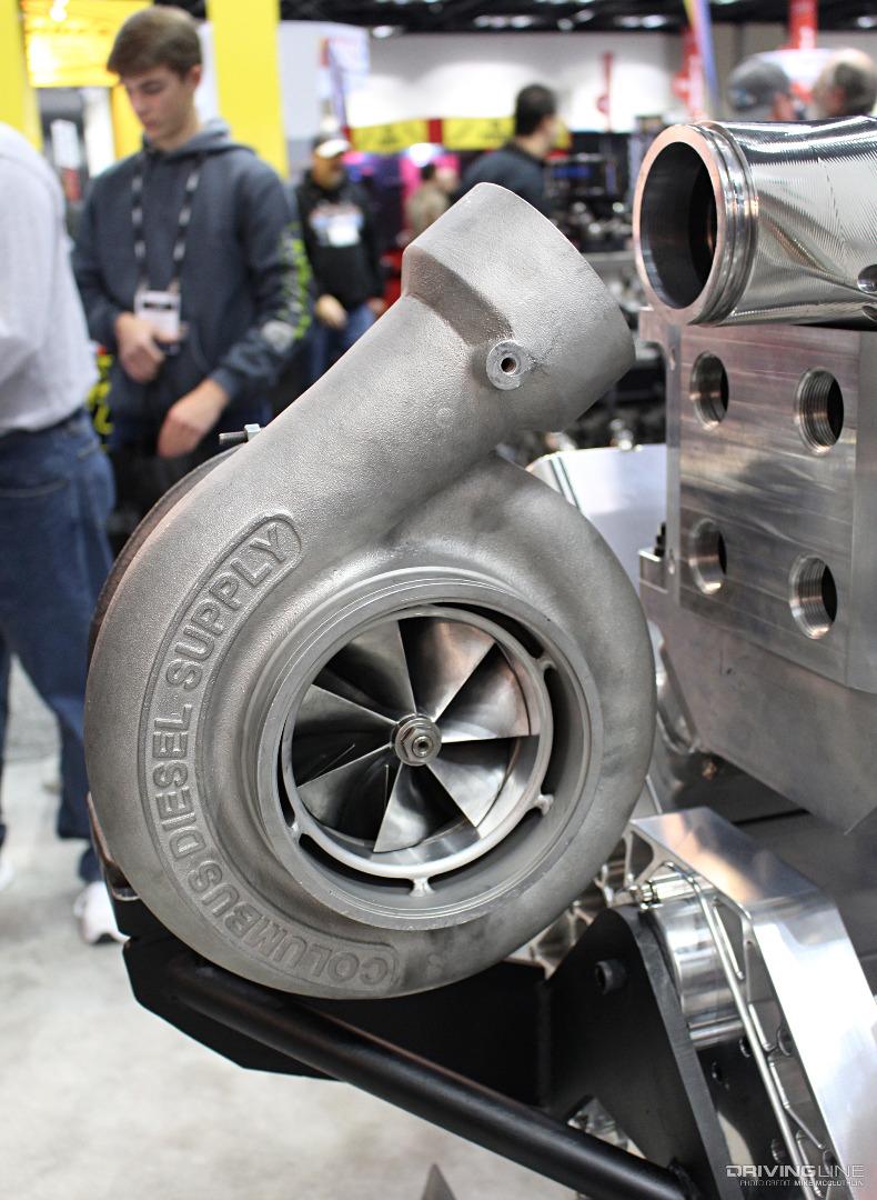Columbus Diesel Supply Turbo Duramax on Duramax Diesel Engines