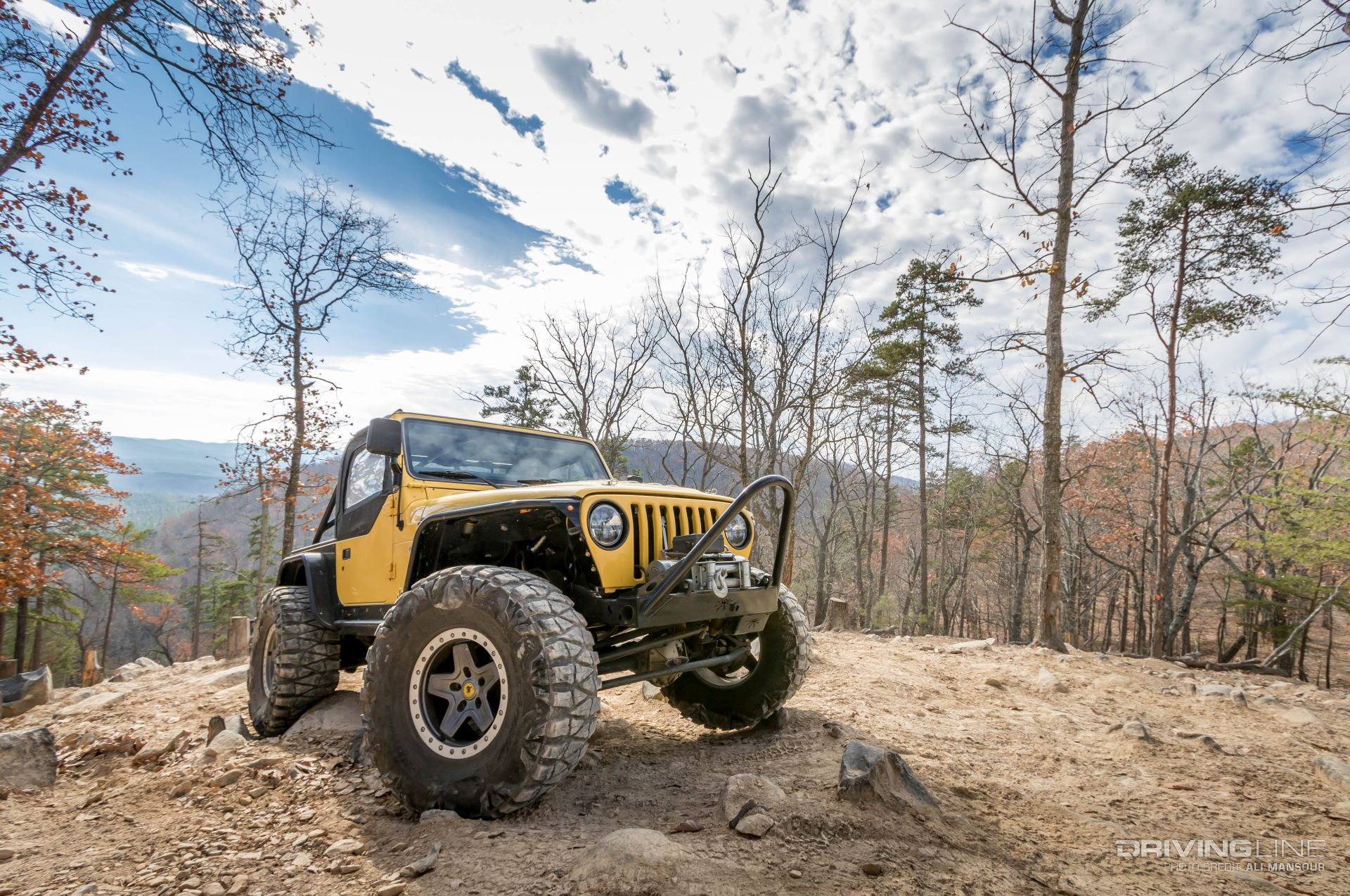 2001 Jeep Wrangler TJ With a 5 9L V8