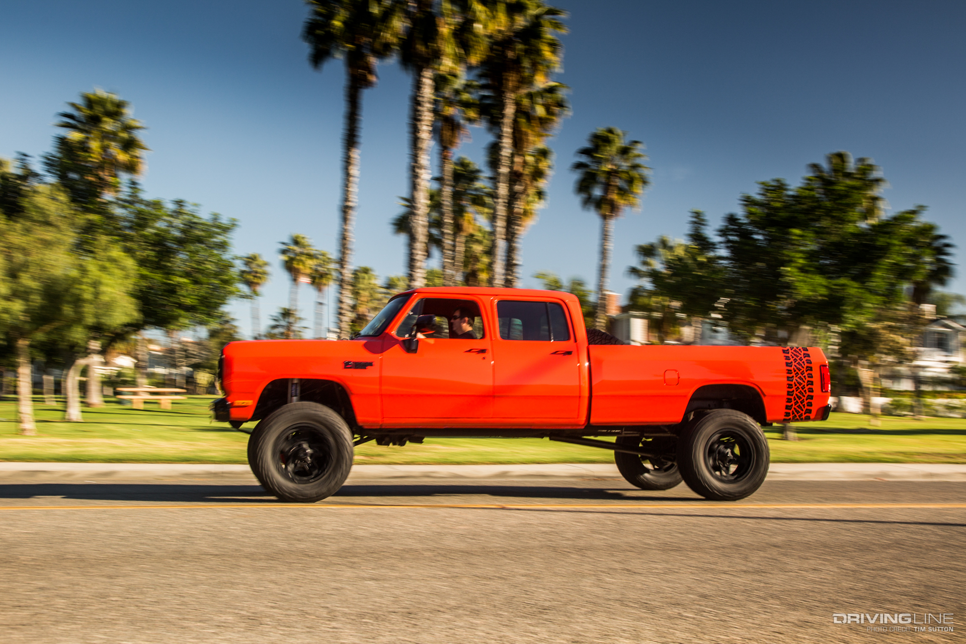 Dodge Ram 6BT Crew Cab Breakfast With the Lobster Wagon