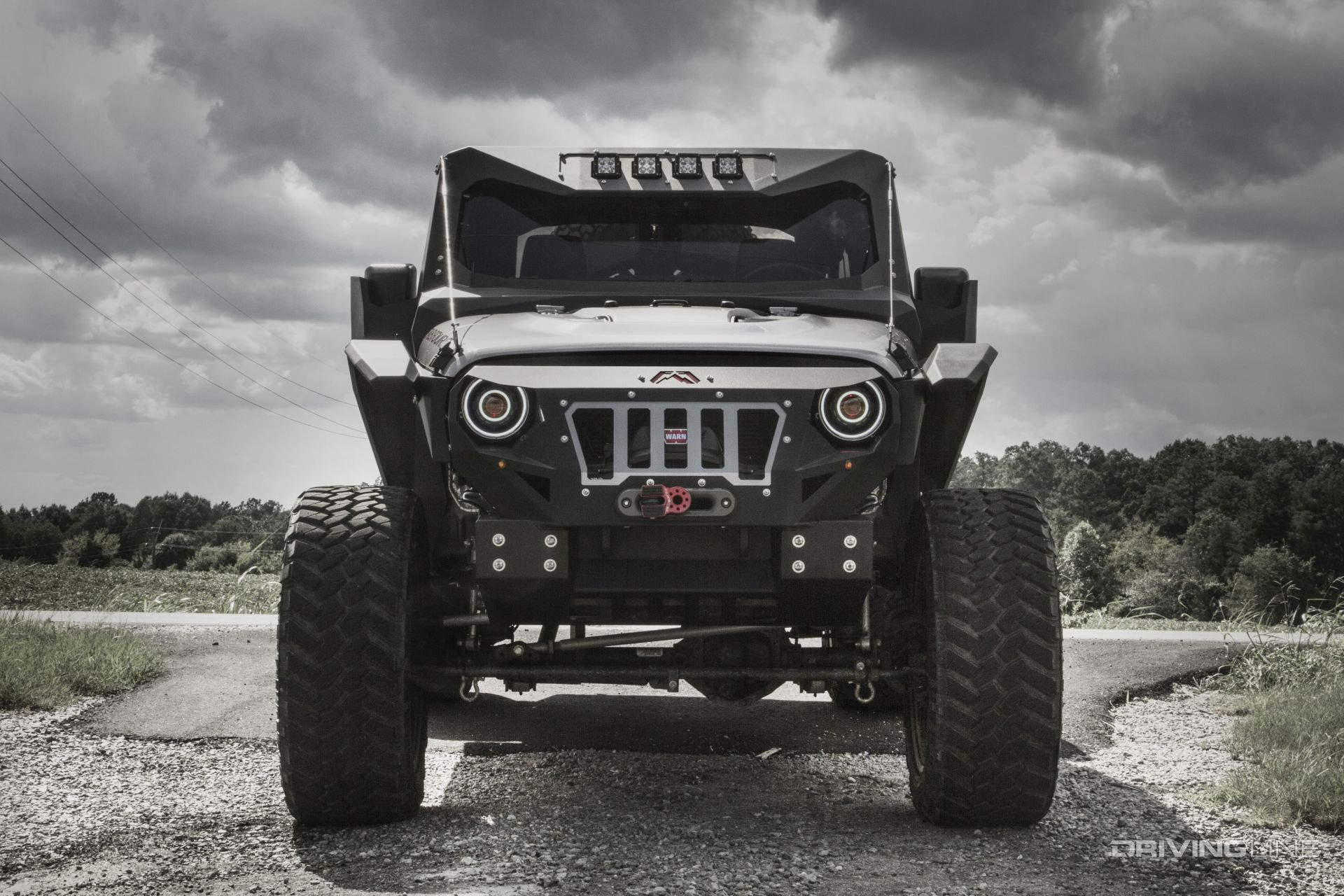 Jeep Wrangler Diesel >> Fab Fours 2015 Jeep Wrangler Unlimited Rubicon Mall ...