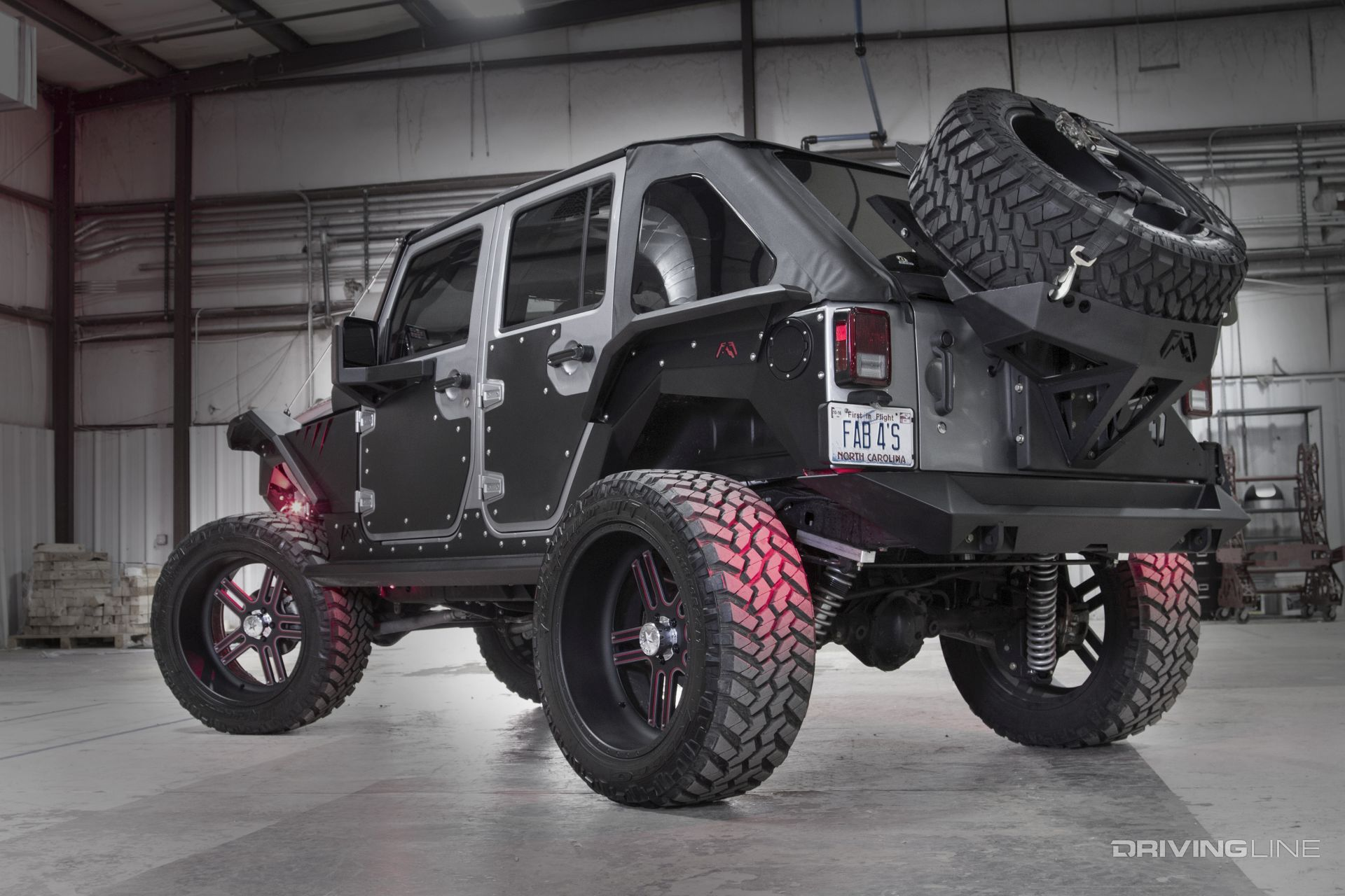 Fab Fours 2015 Jeep Wrangler Unlimited Rubicon Mall