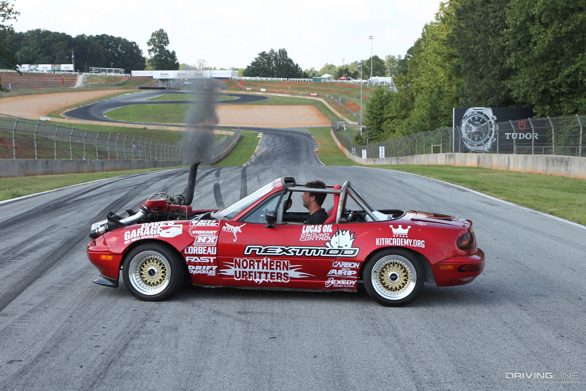 ZOOM-ZOOM, Here It Cummins! The Diesel Drift Mazda Miata | DrivingLine