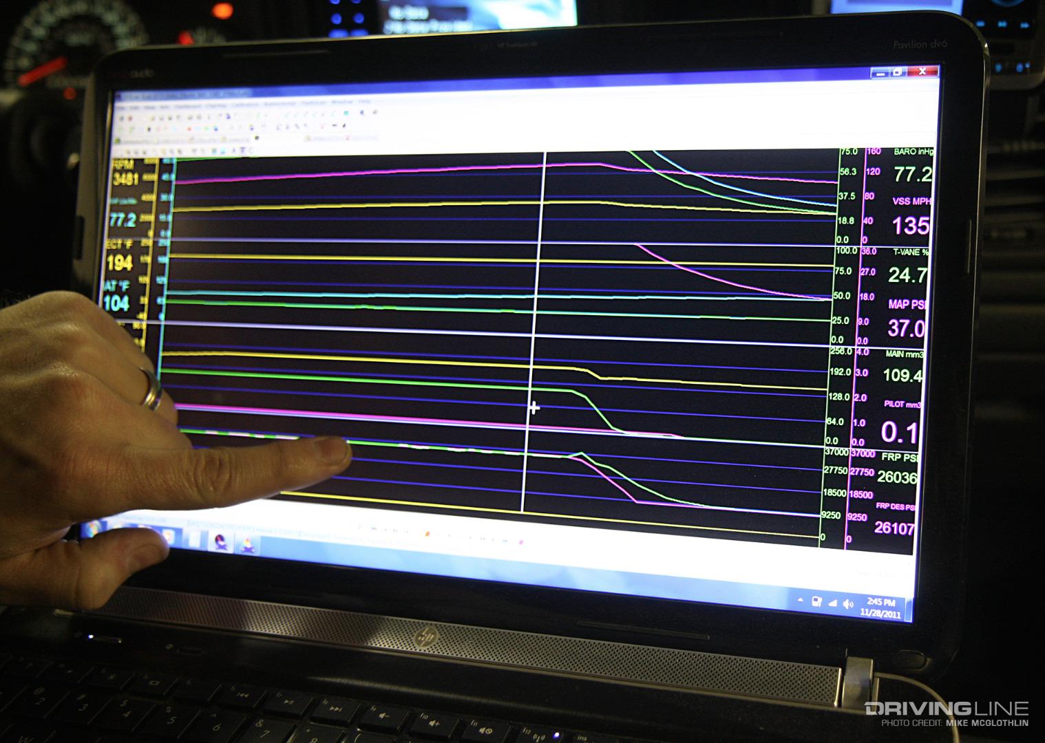 Efi Live Data Log Fuel Rail Pressure