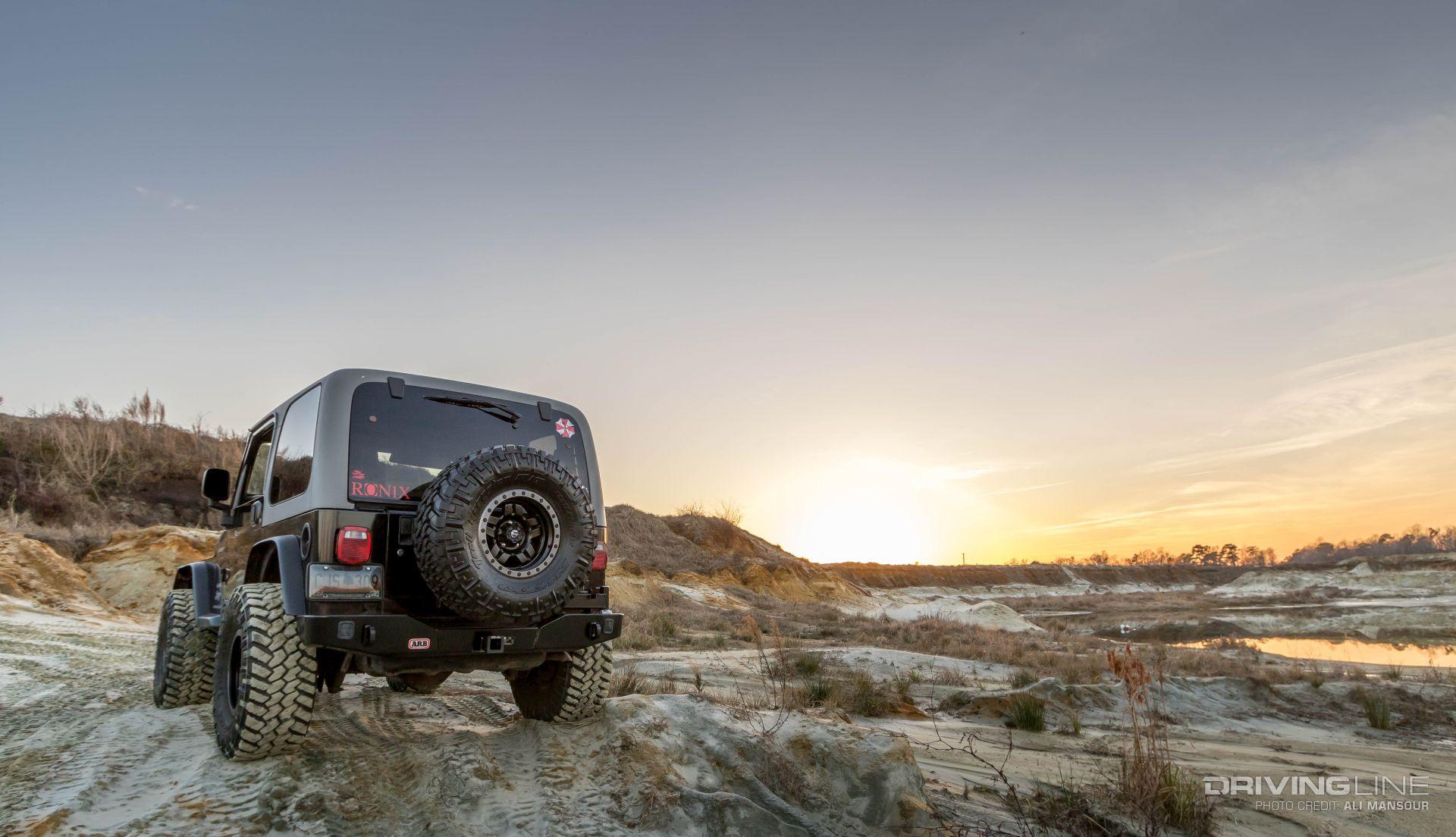 Jeep Tj Top