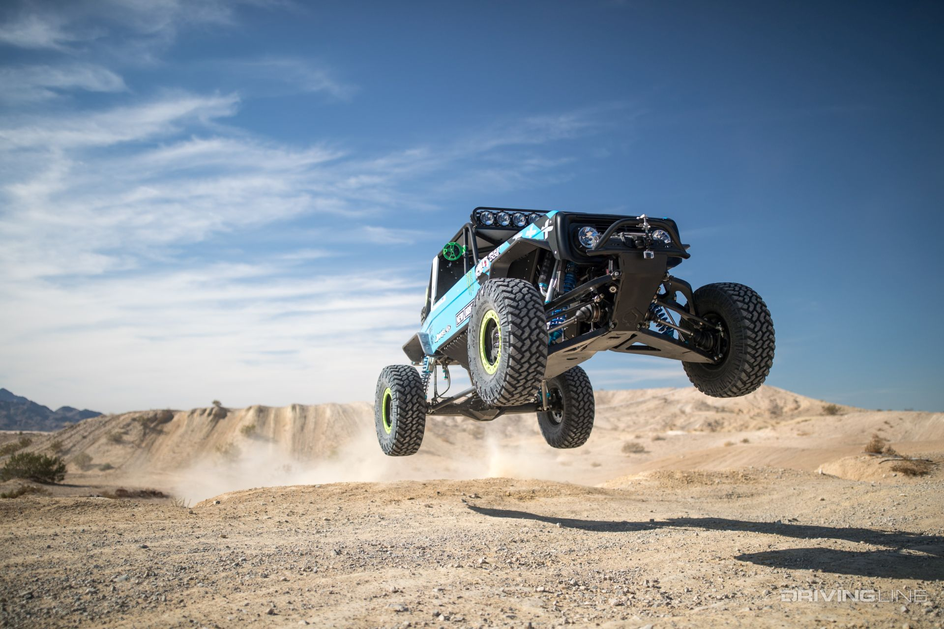 Vaughn Gittin Jr S Ford Bronco Takes On King Of The