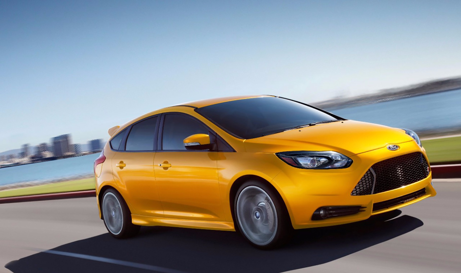 Costco Car Buying >> Ford Focus ST vs. Ford Fiesta ST: What's the Difference ...