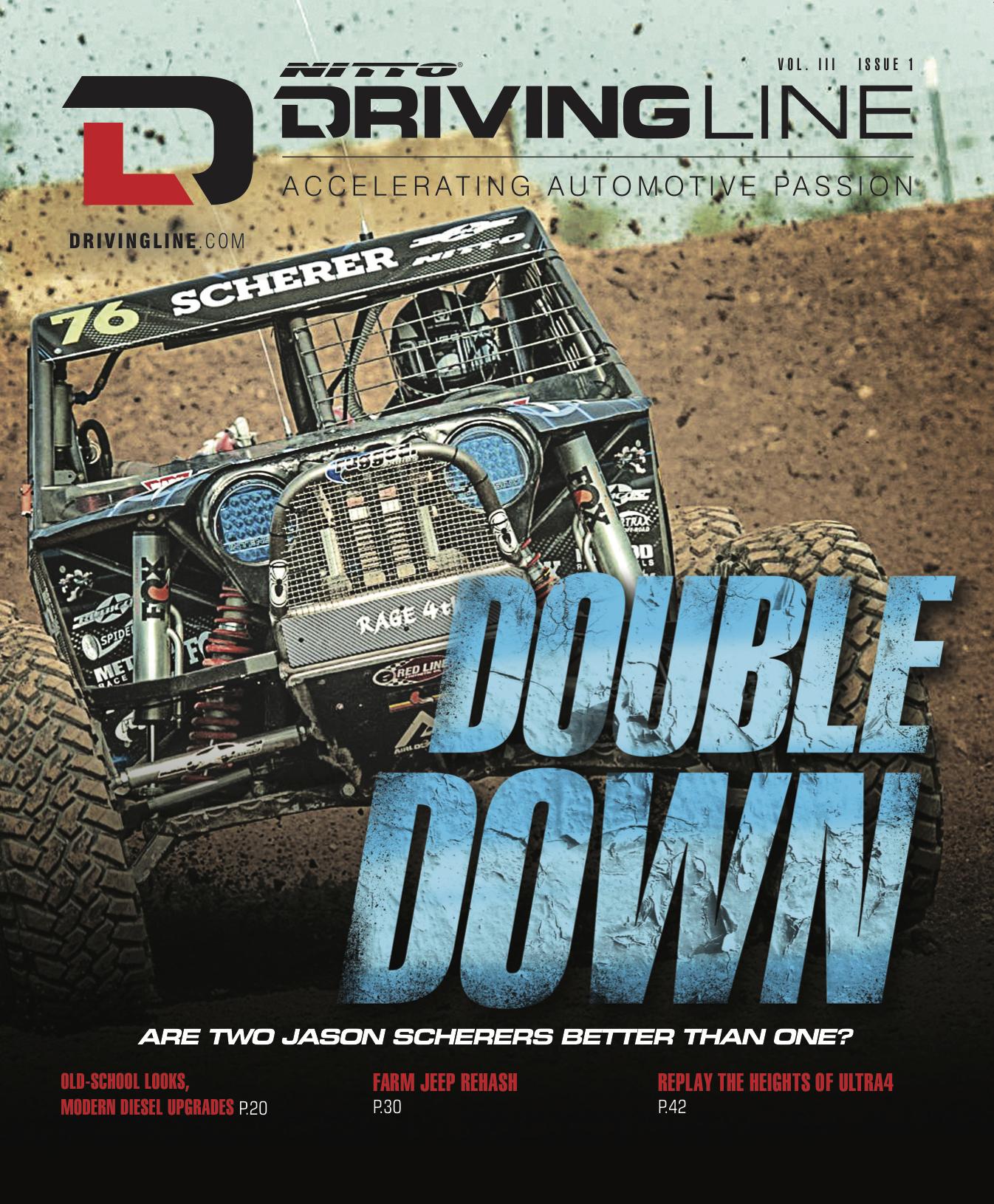 Driving Line Magazine V3 Issue1 - dirt cover