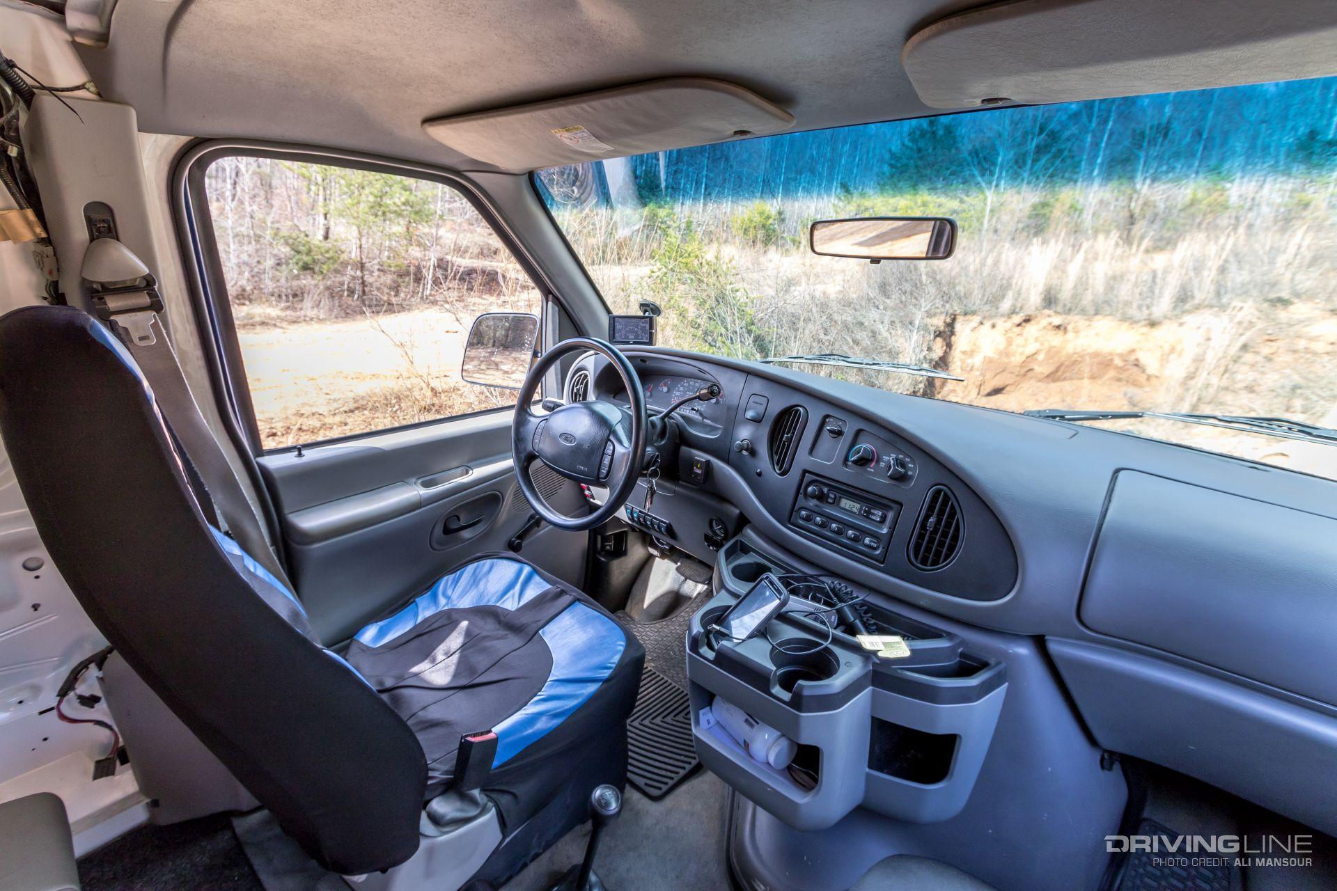 Plumb Crazy 1999 Ford E 350 4x4 Van Drivingline