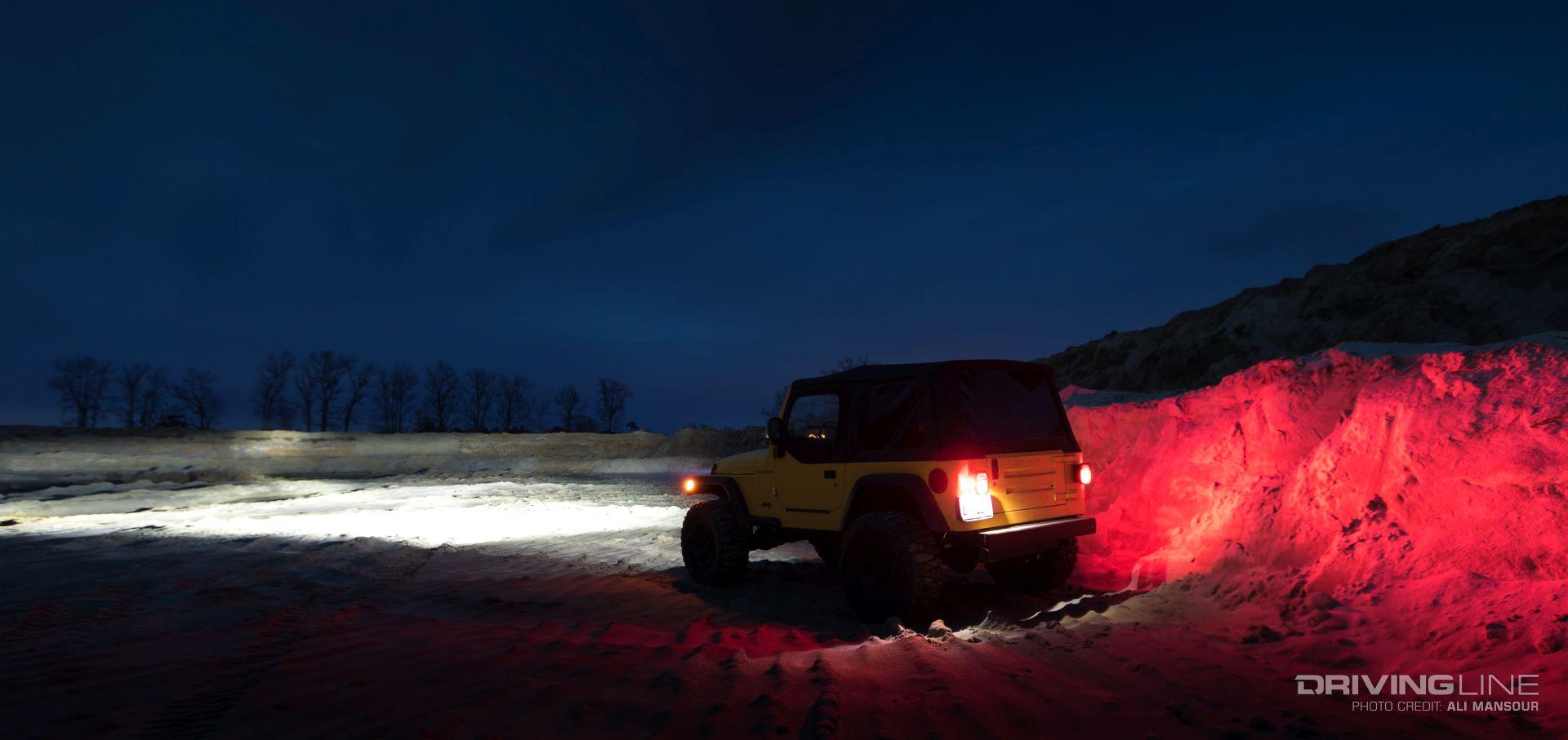 Quadratecs Gen Ii Led Headlight Review Drivingline Jeep Wrangler Tj Reverse Lights