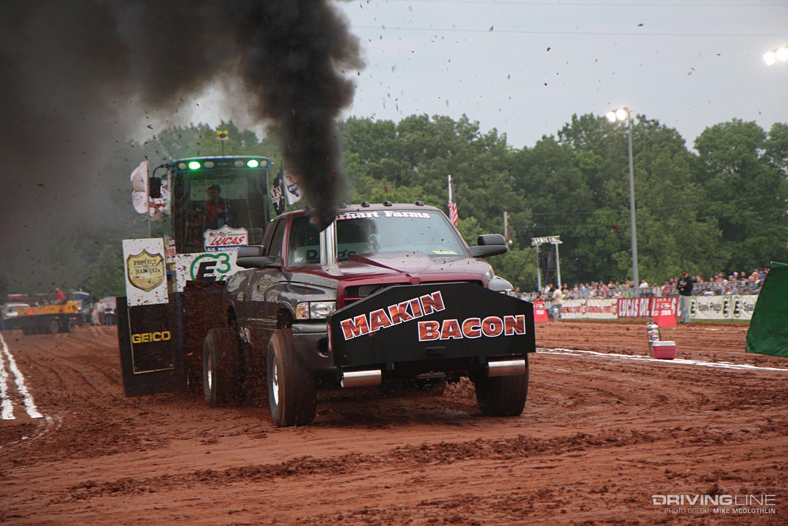 pulling truck dodge cummins diesel drivingline