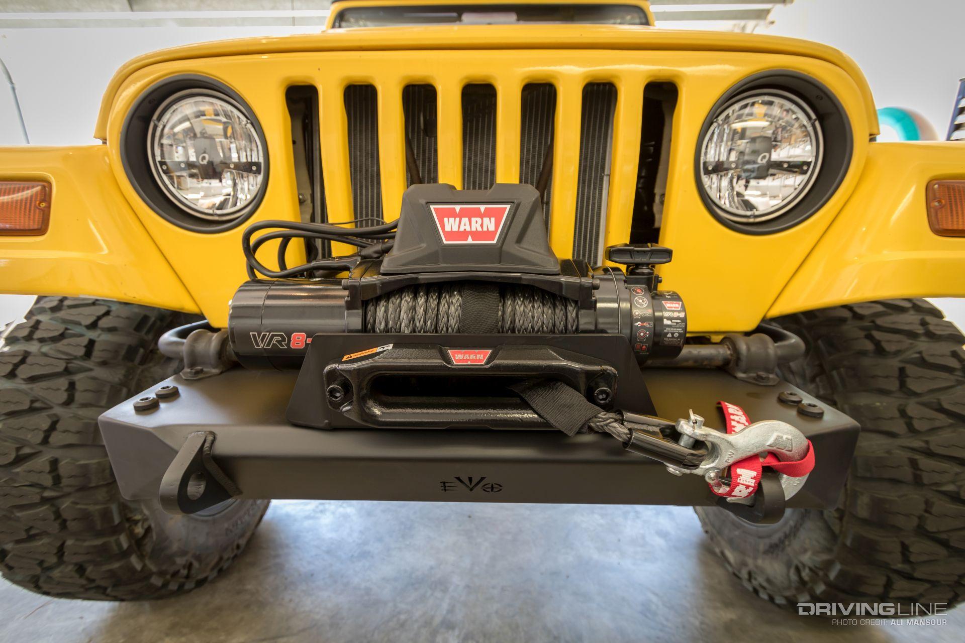 Evo Mfg Jeep Wrangler Tj Bumper Review Drivingline