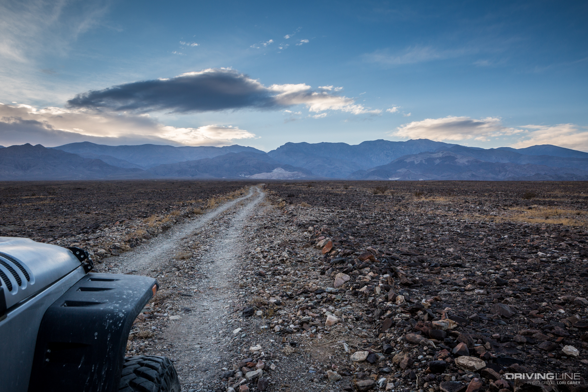 Mojave Desert Trail Review Death Valley West Side Road