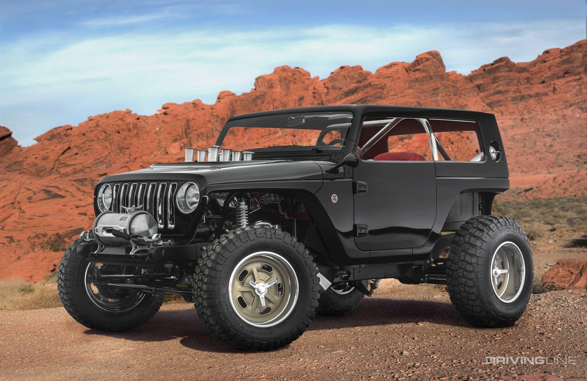 2017 Jeep Concept Vehicles >> Unveiled: 2017 Jeep Concept Vehicles | DrivingLine