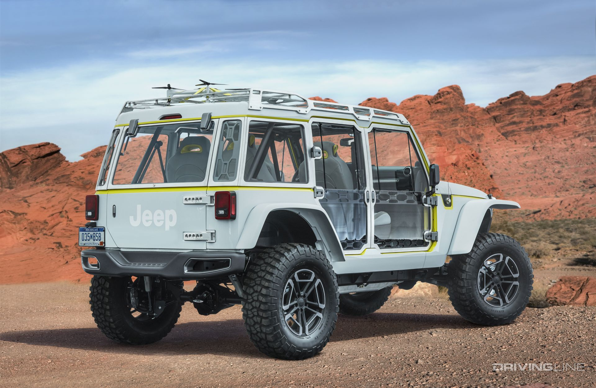 Unveiled 2017 Jeep Concept Vehicles