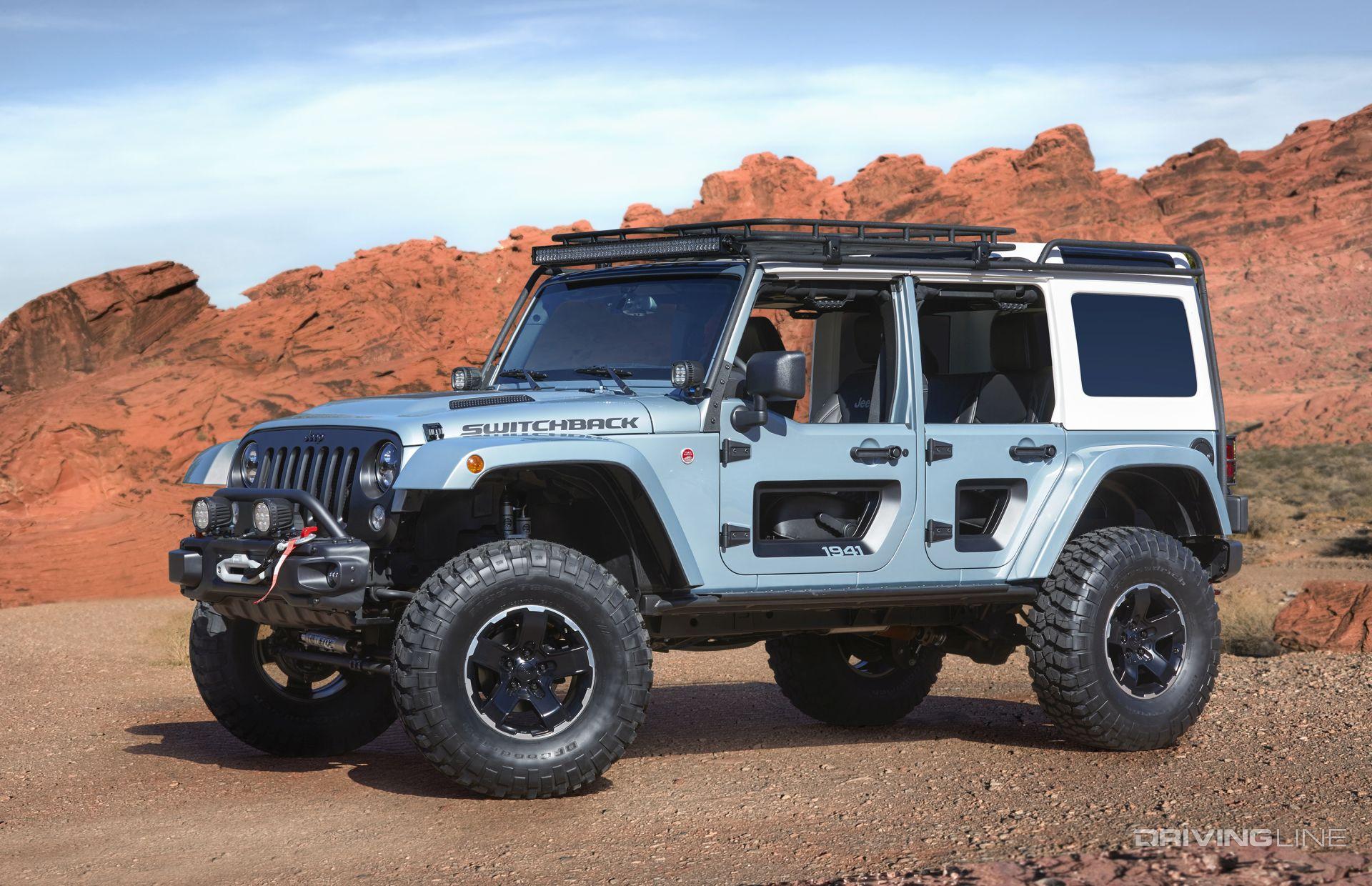 2017 Jeep Concept Vehicles >> Unveiled 2017 Jeep Concept Vehicles Drivingline