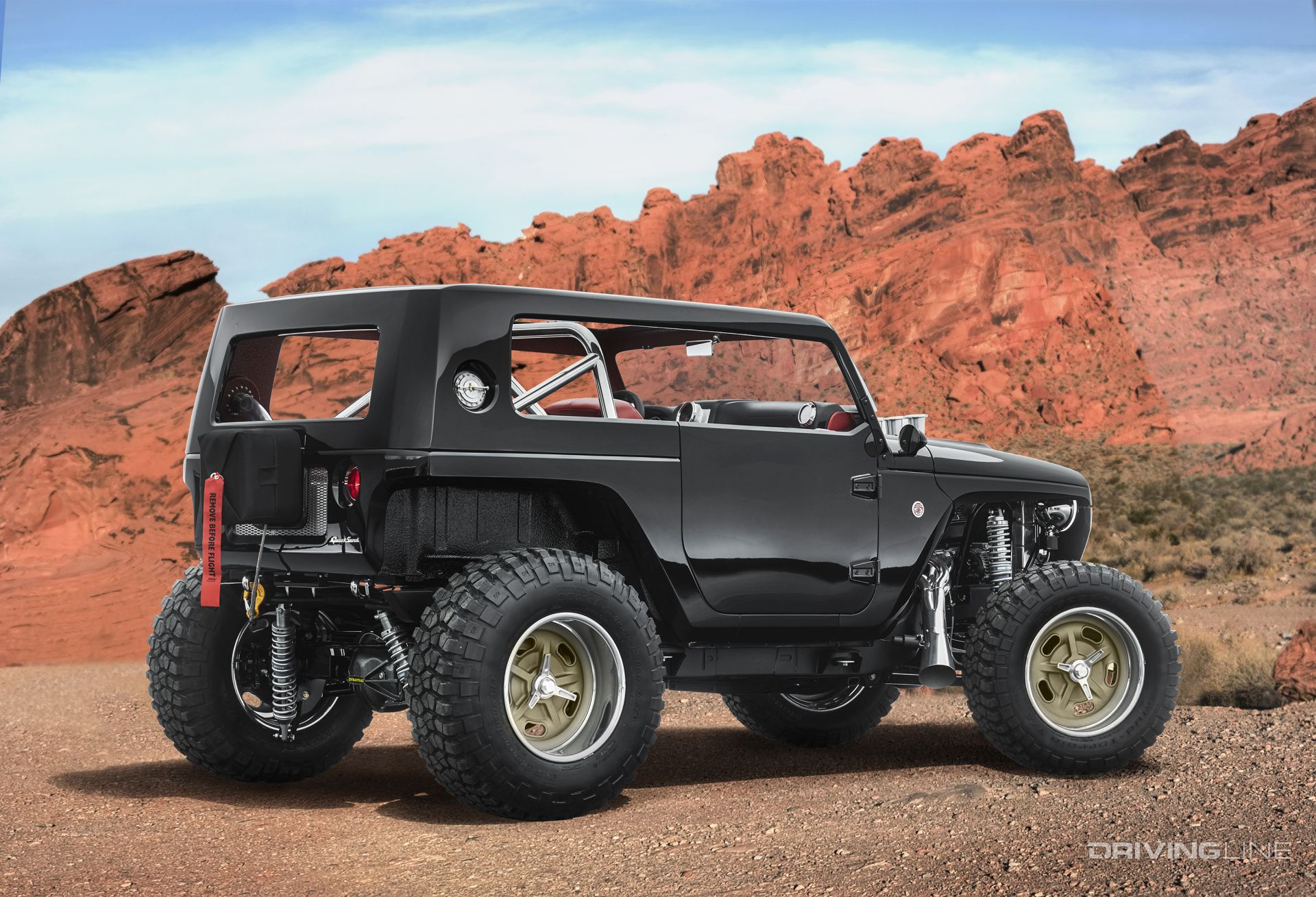 Jeep Wrangler Diesel >> Unveiled: 2017 Jeep Concept Vehicles | DrivingLine