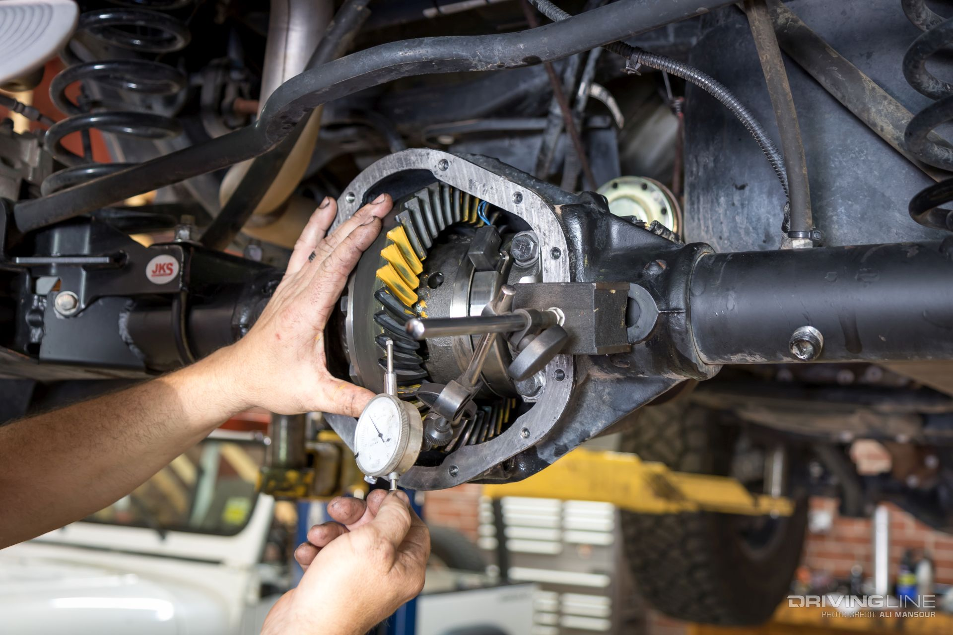 Fast Lane Oil Change >> Nitro Gearing for Go: Jeep Wrangler JK 5.13 Install | DrivingLine