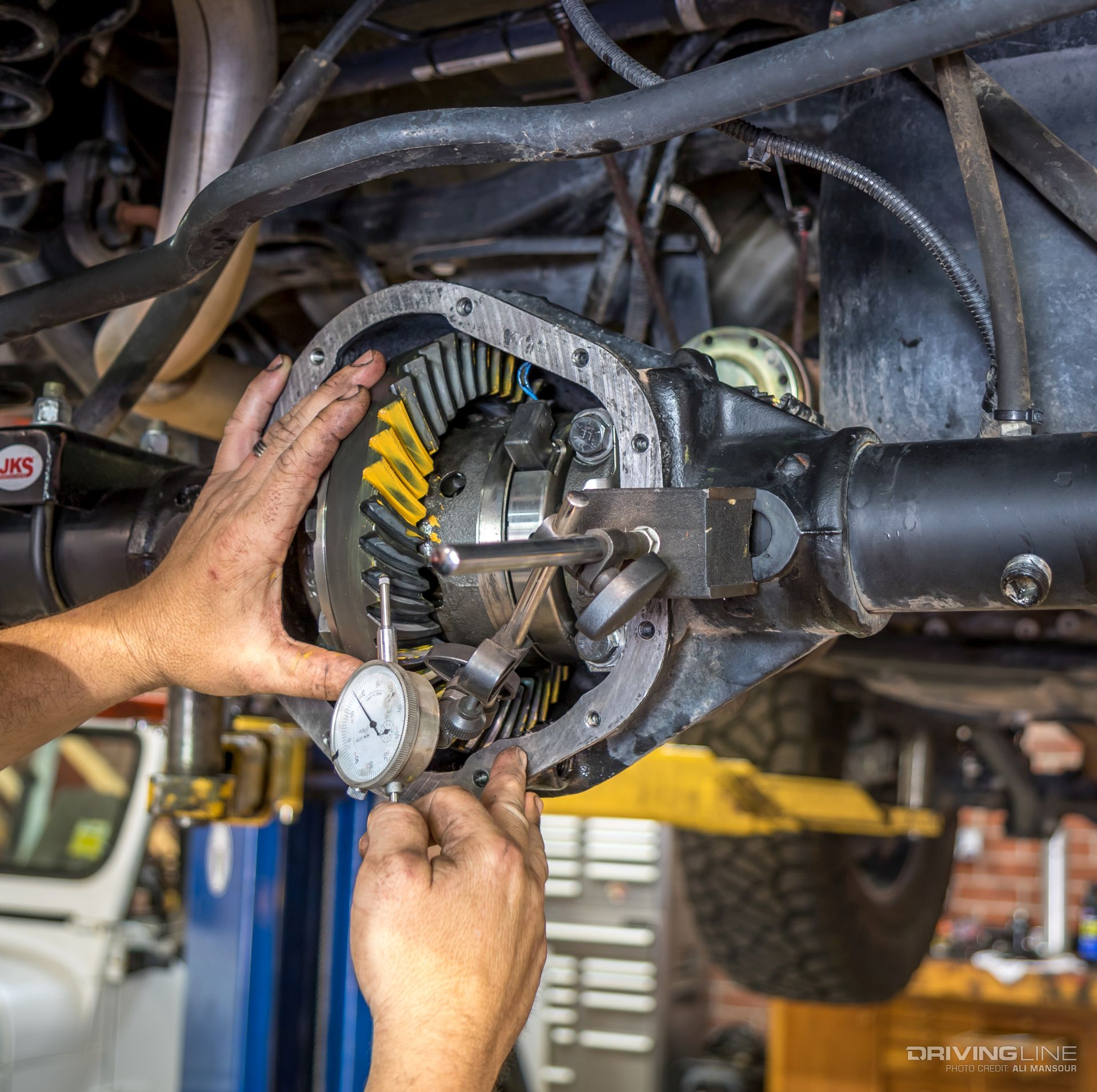 Diesel Jeep Wrangler >> Nitro Gearing for Go: Jeep Wrangler JK 5.13 Install   DrivingLine